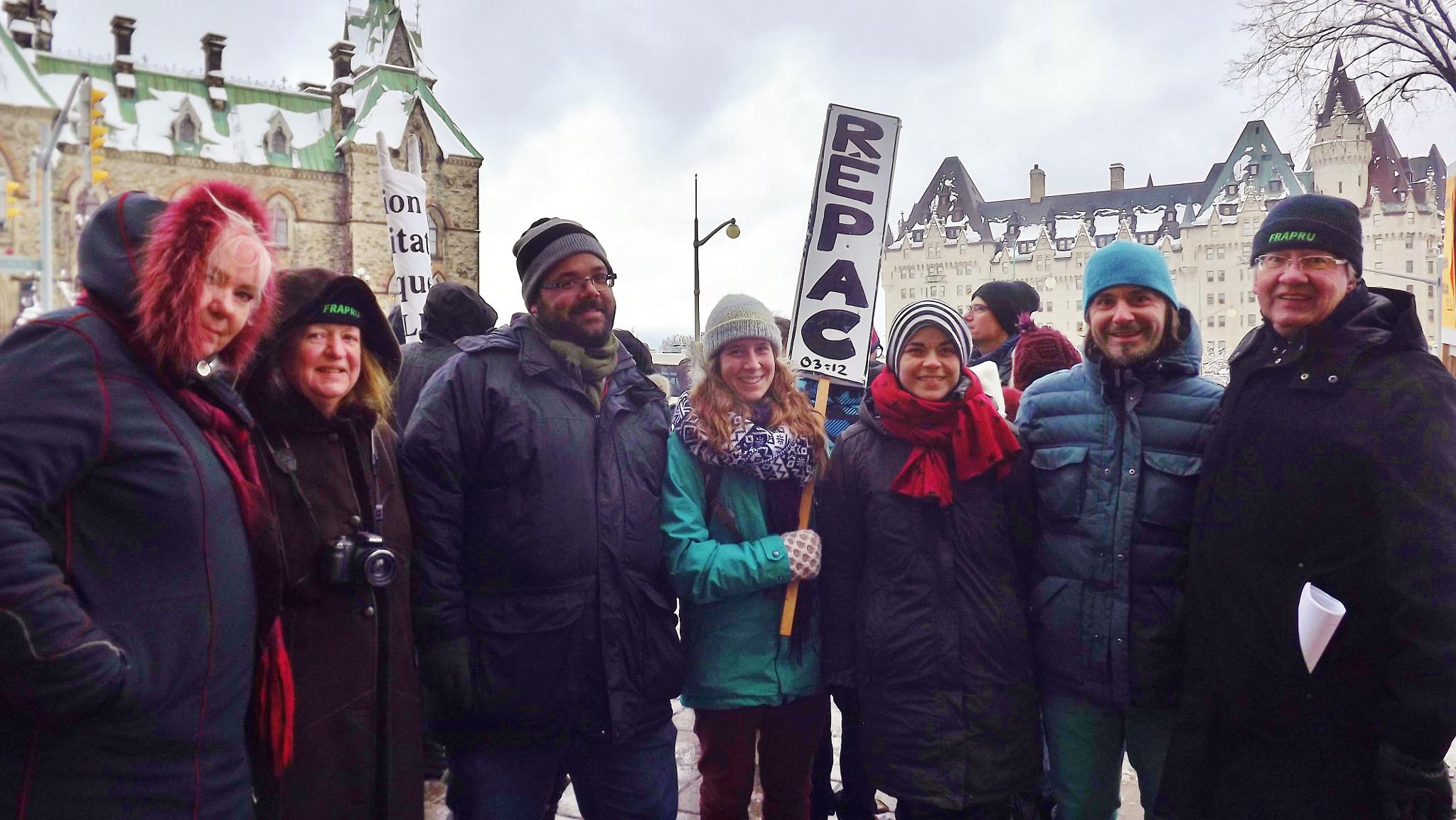 Quebec people delegate groups to Ottawa by real.michaud.5036