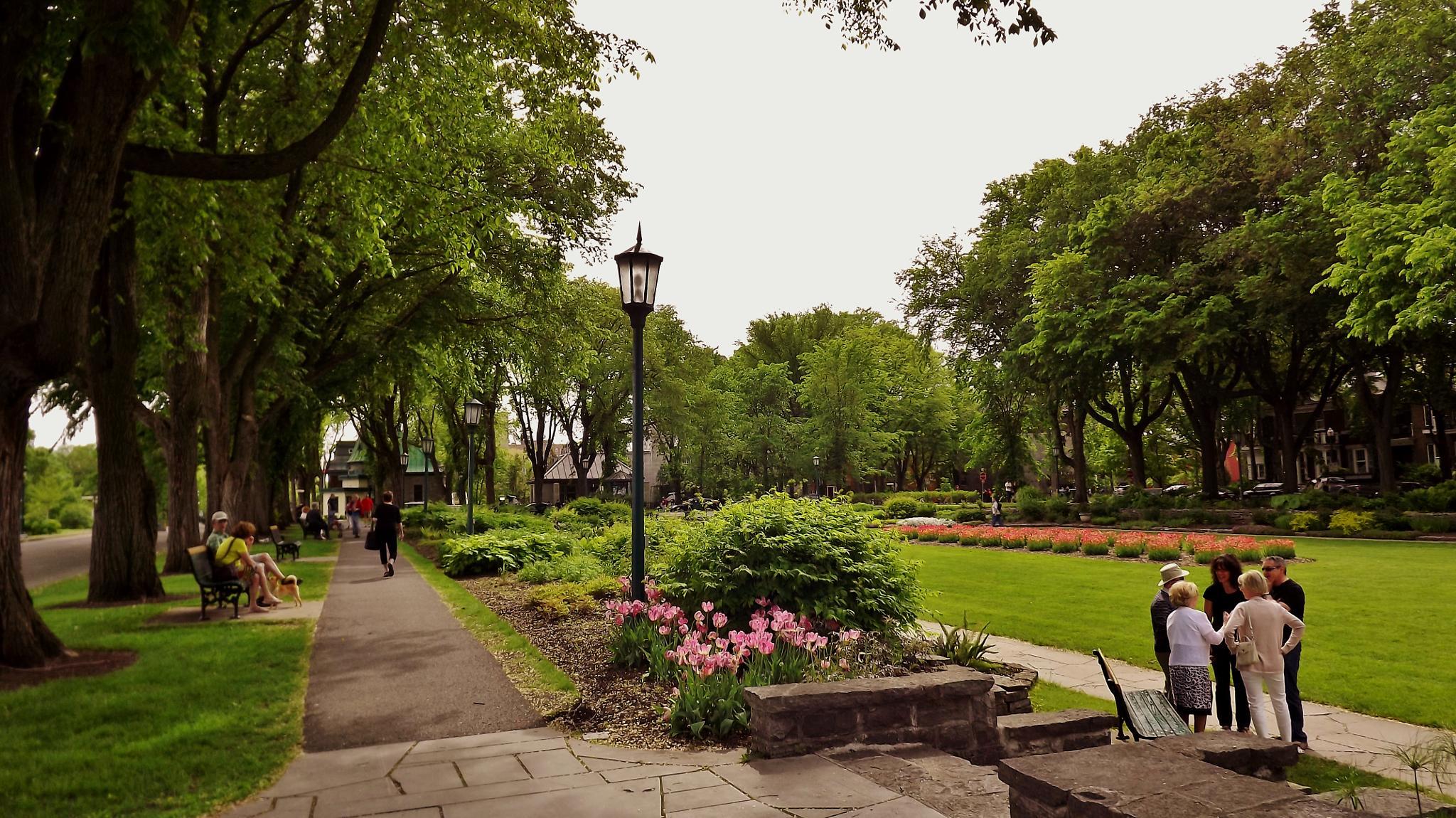 Park Jeanne-d'Arc garden by real.michaud.5036
