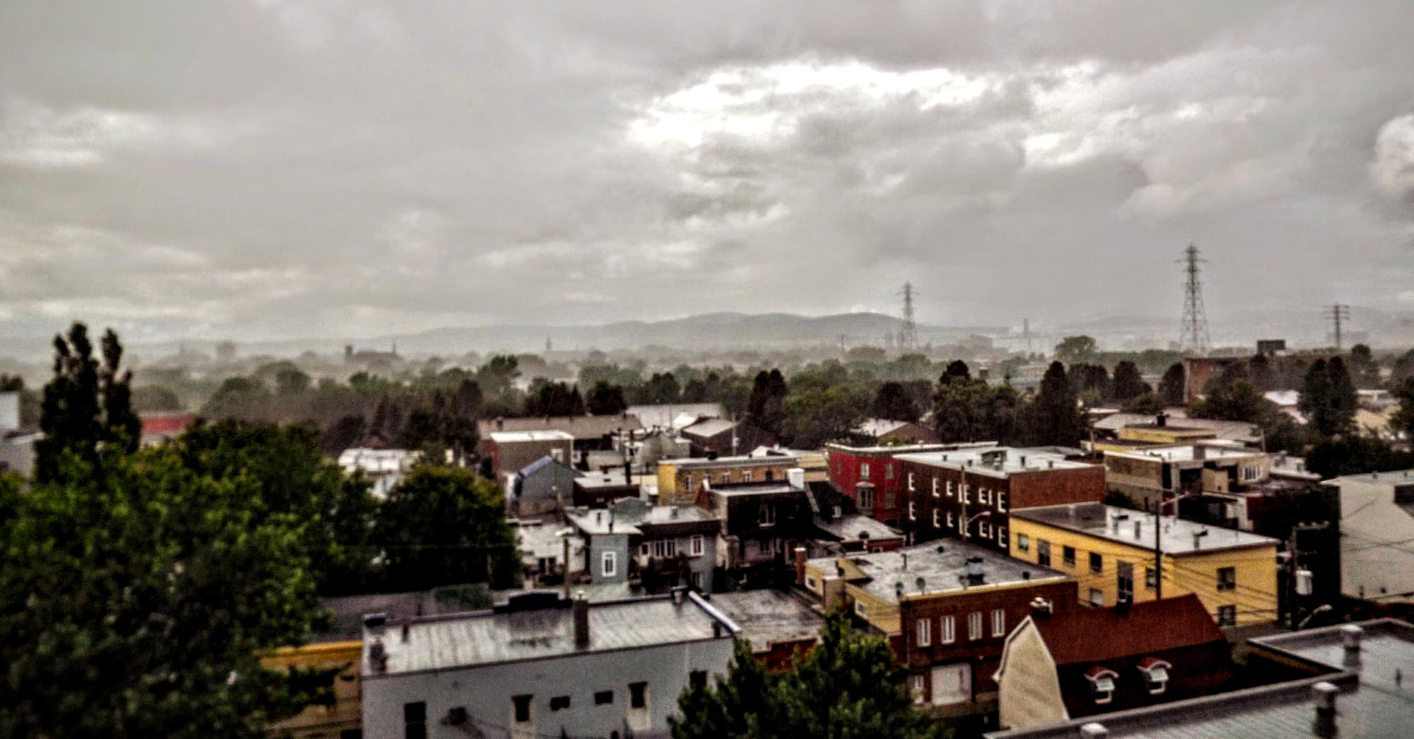 Downtown rainy day by real.michaud.5036