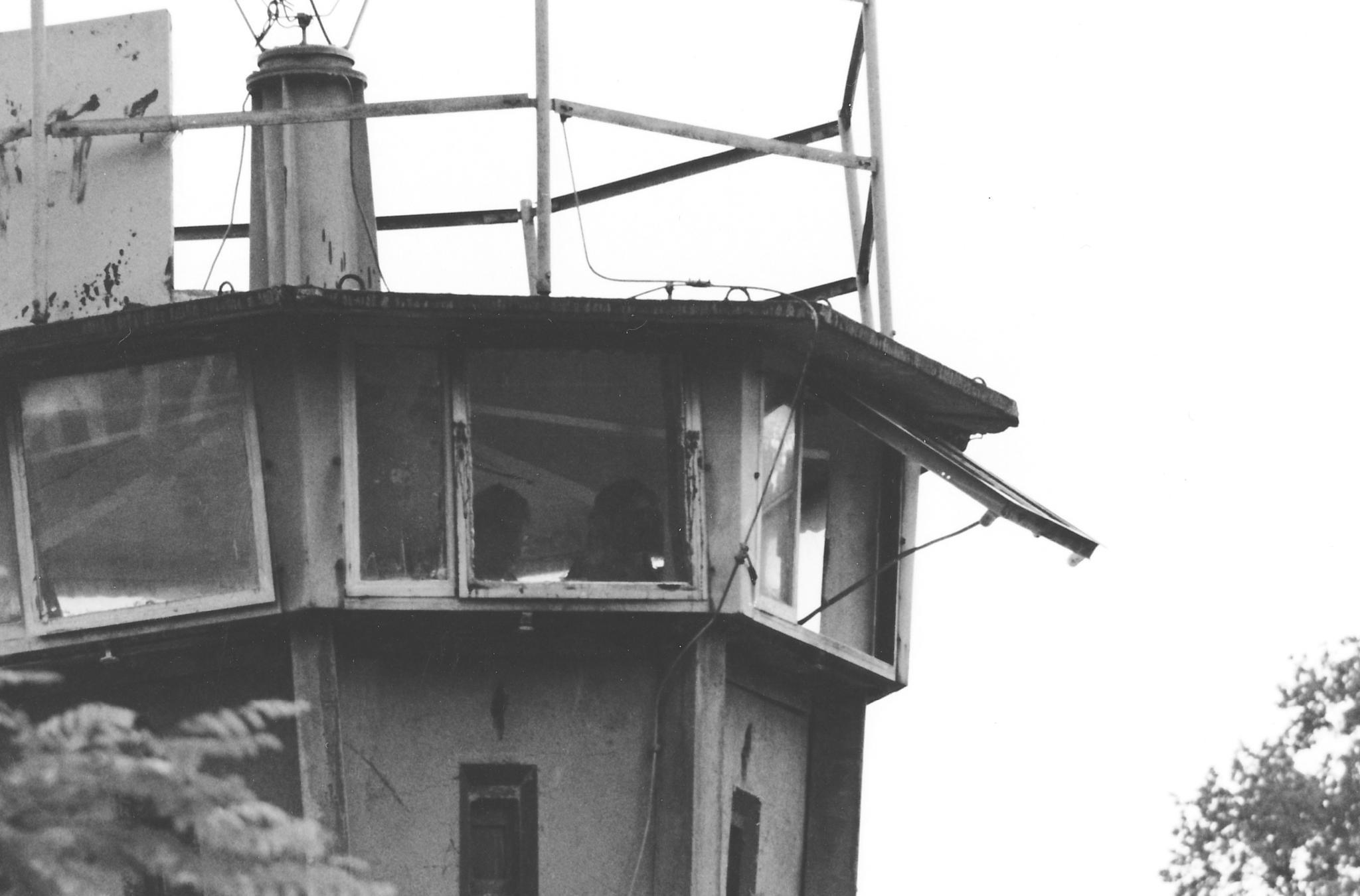 Guard Tower circa 1983 by Doug Bottalico