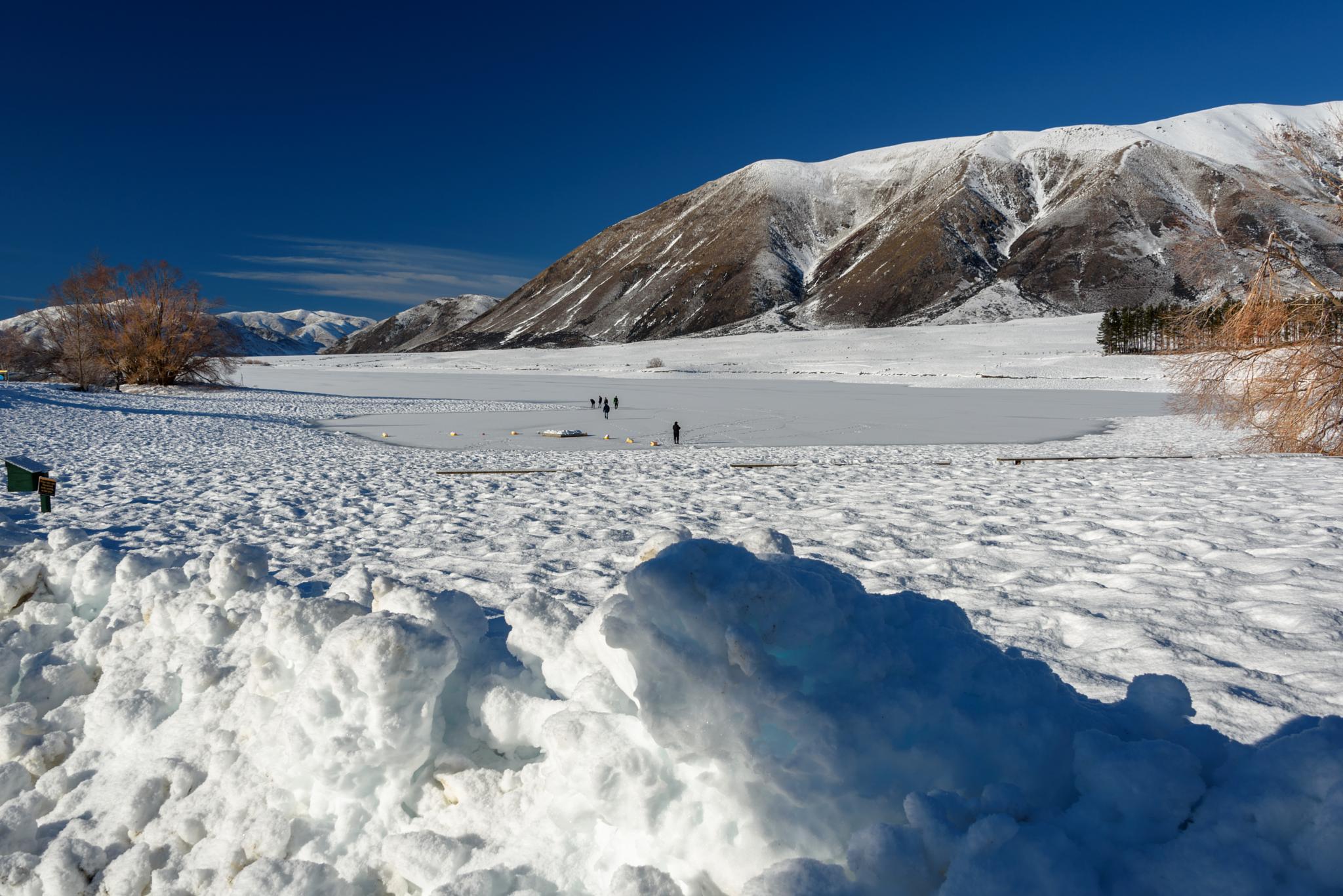 Ice Skating at Lake Camp by Jocelyn Kinghorn