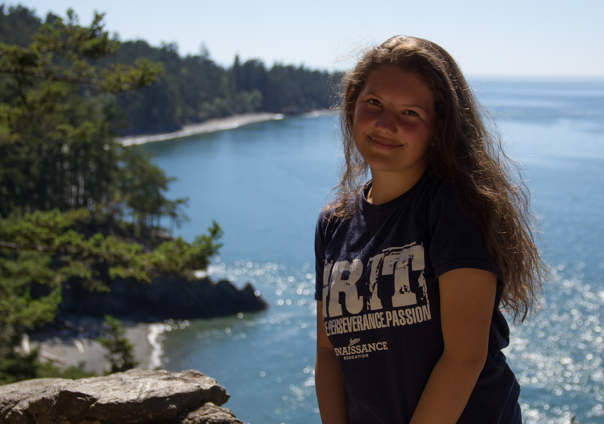 Shelby at Deception Pass by karlbishop6