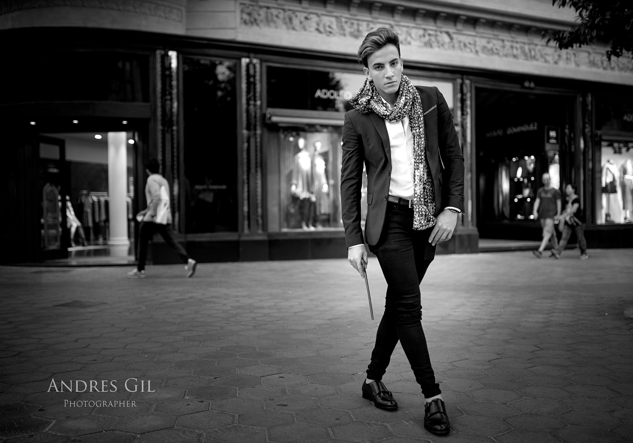Joel  Tulis  Barcelona fashion  shooting  by AndresGil