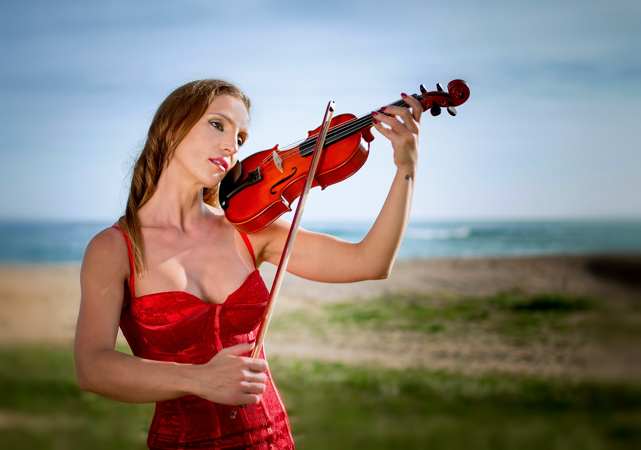 The violinist  by AndresGil