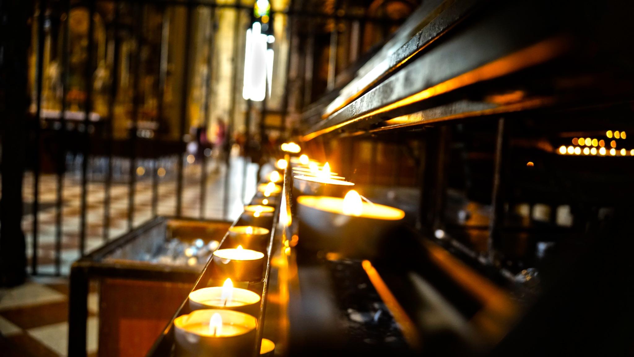 Church Candles by Blackhawk