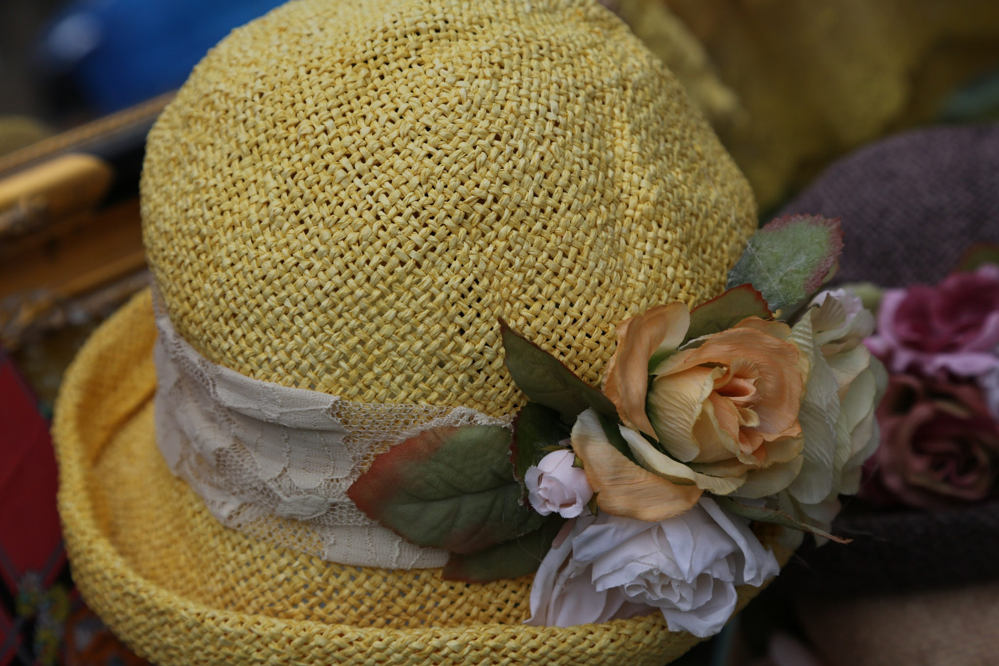 Yellow Hat by Janet Aguila Krause