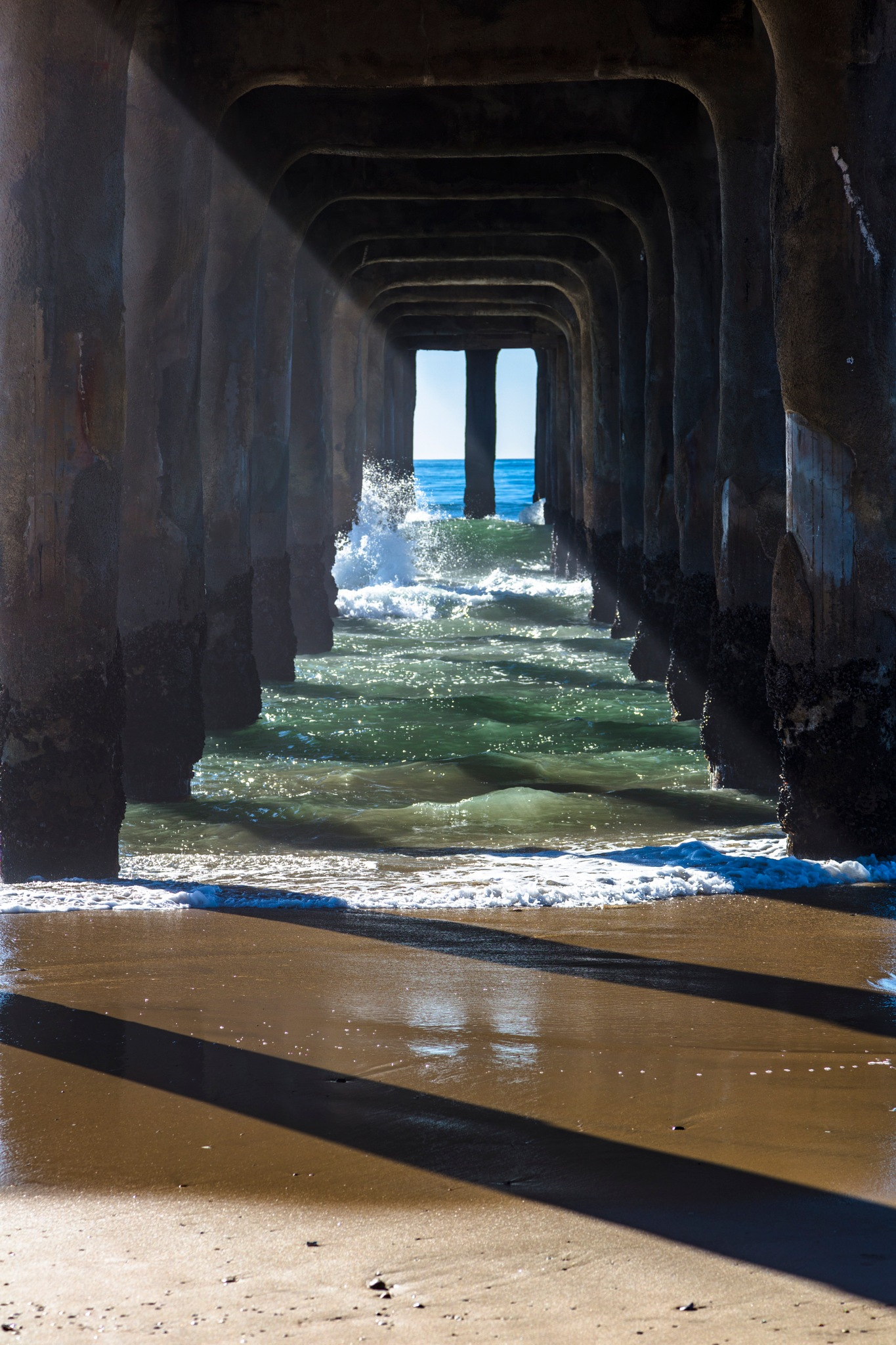 Under the Pier  by Janet Aguila Krause