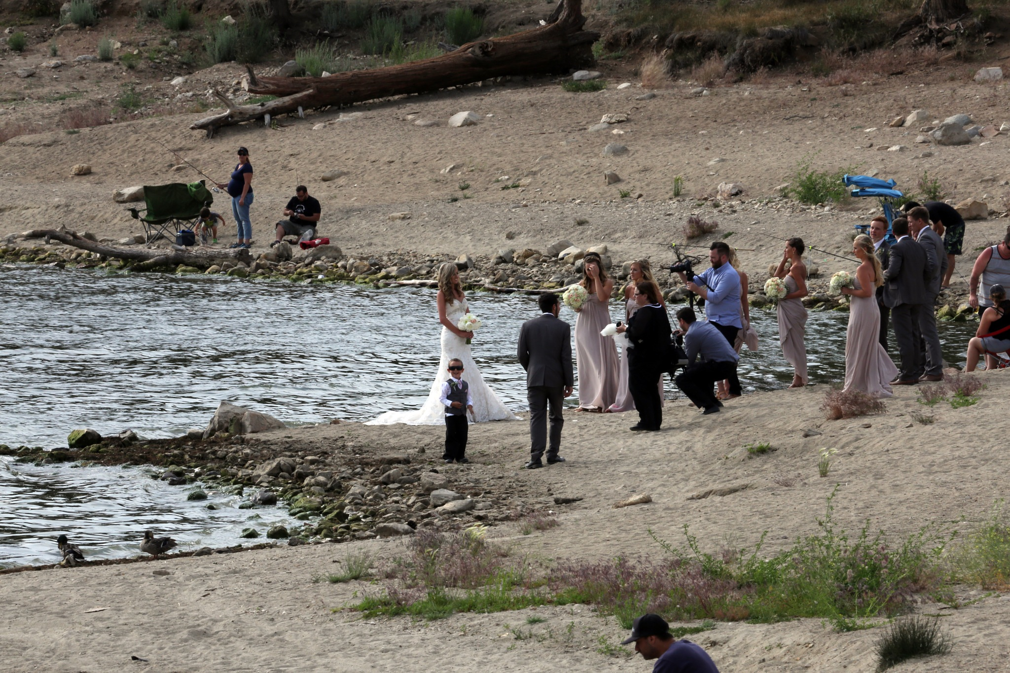 Candid Wedding Photo by Janet Aguila Krause