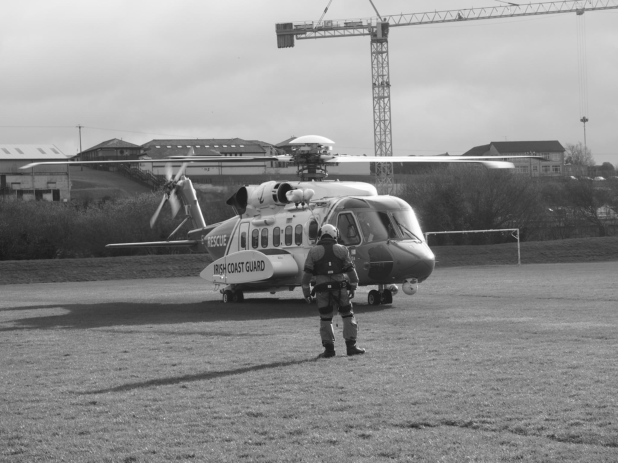Irish Coast Guard by Hailceaser