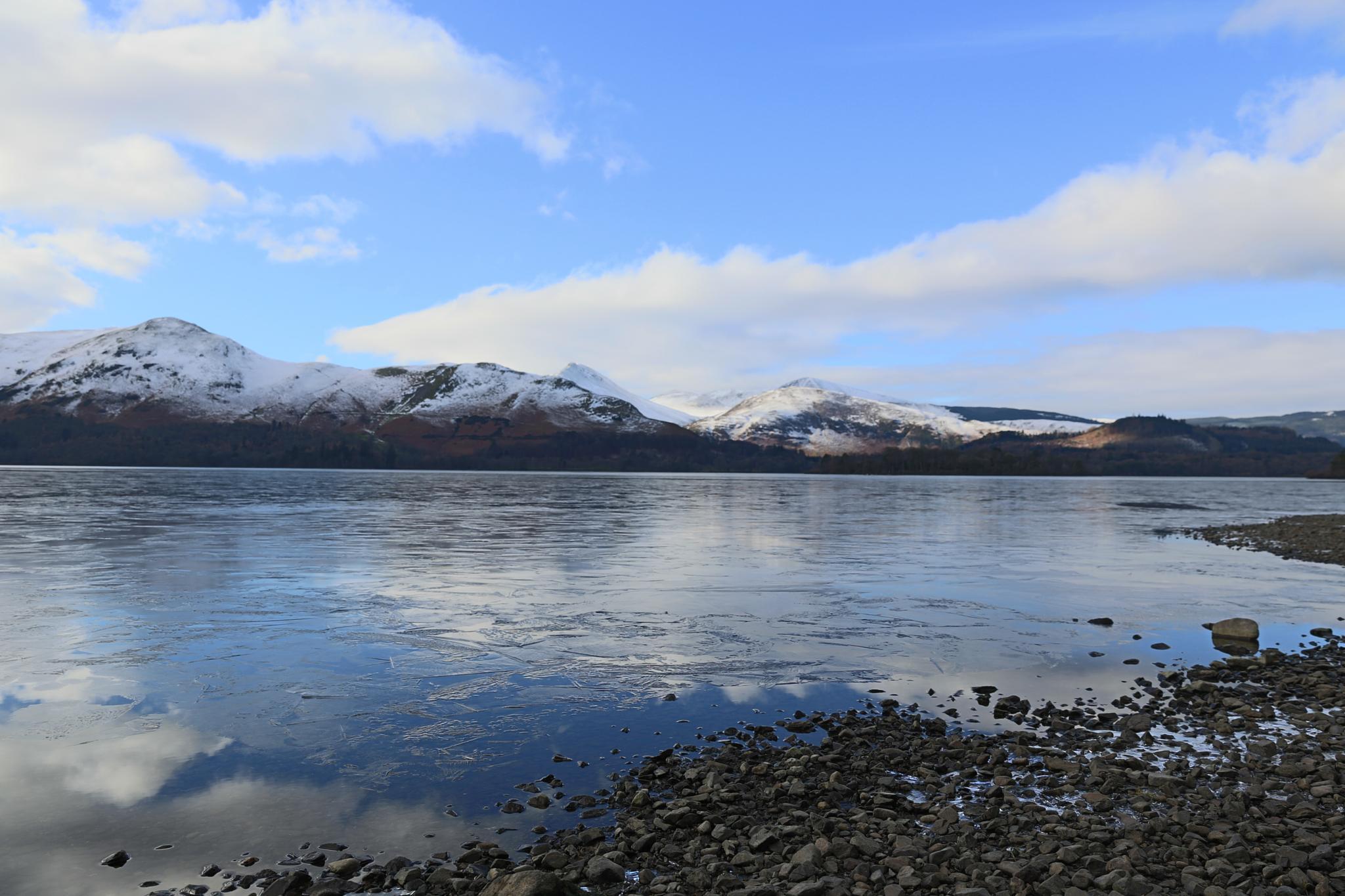 Frozen Lake by michael.hale.773