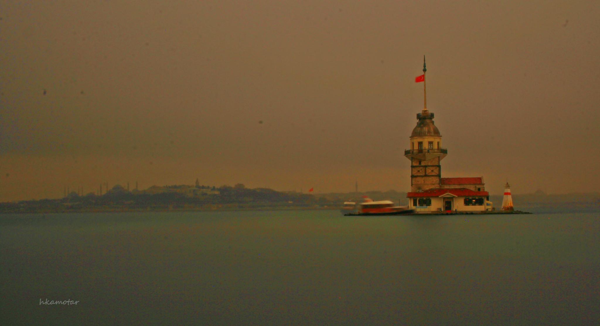 KIZ KULESİ- İSTANBUL by harun