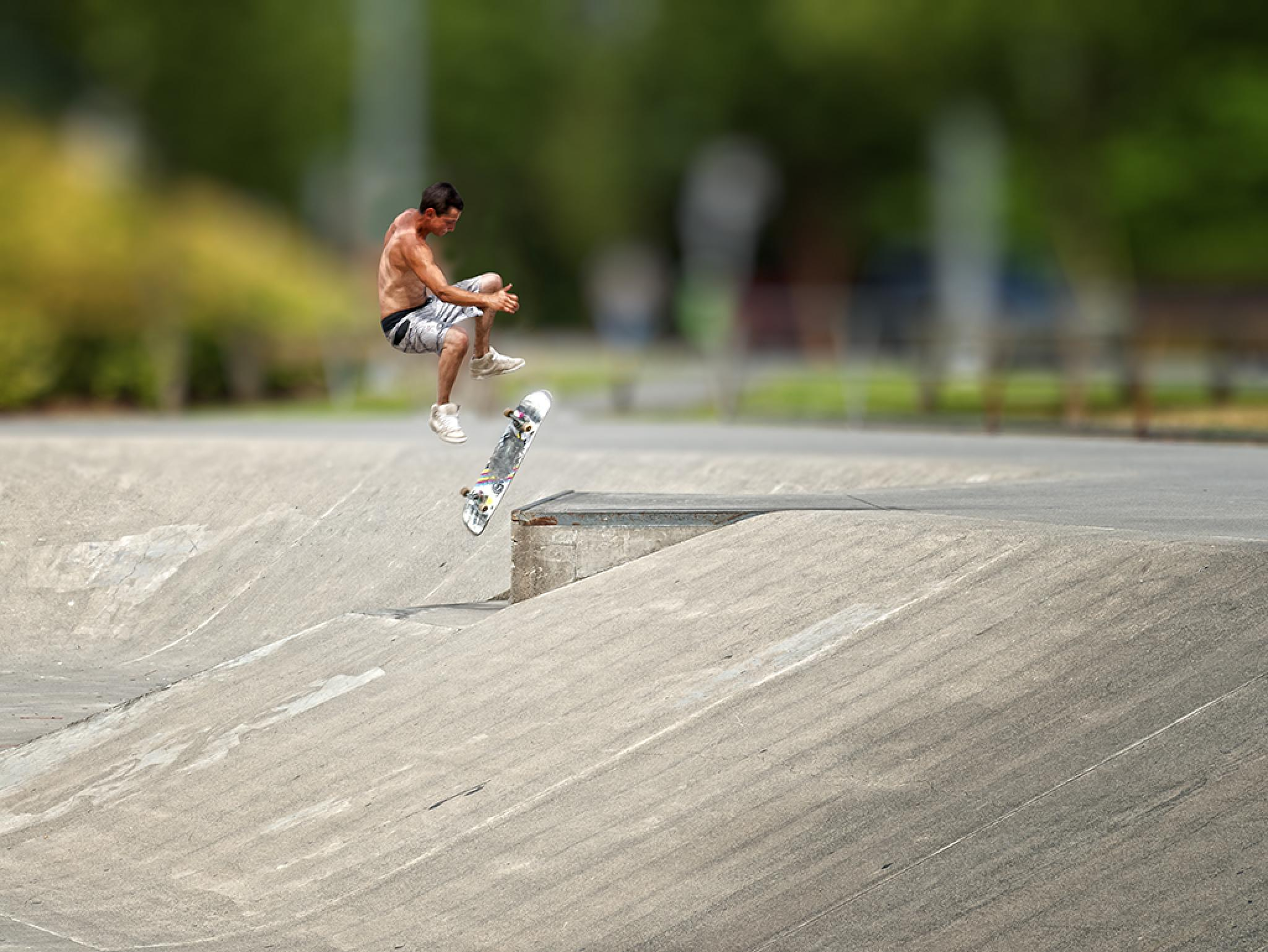 At the skate park by michael.krochta.3