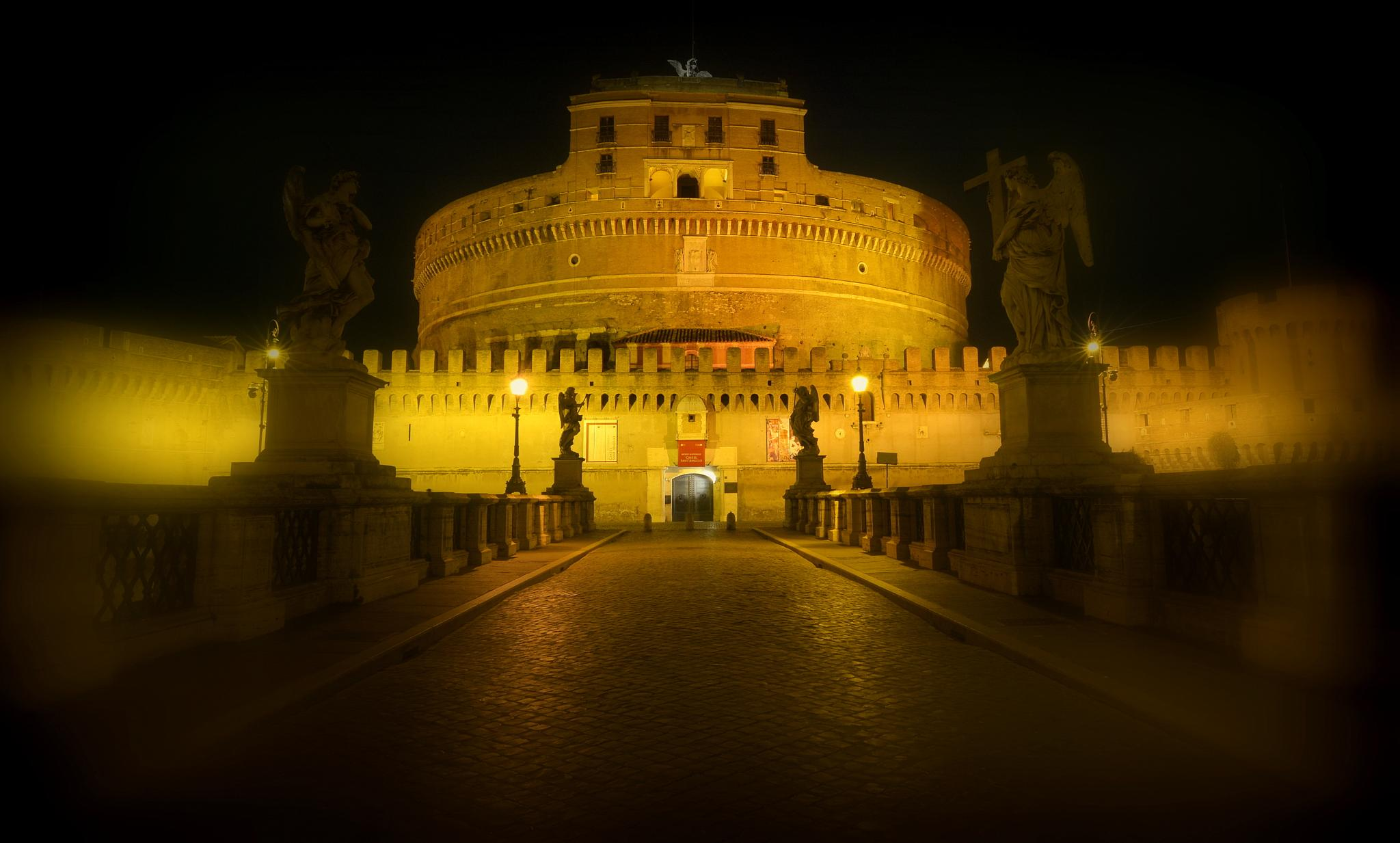 roma ,castel sant'angelo by sildemo