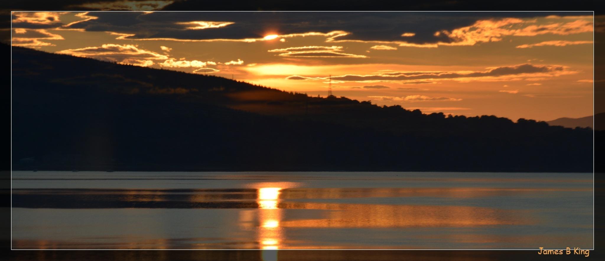 Golden Silhouette by James Bullis-King