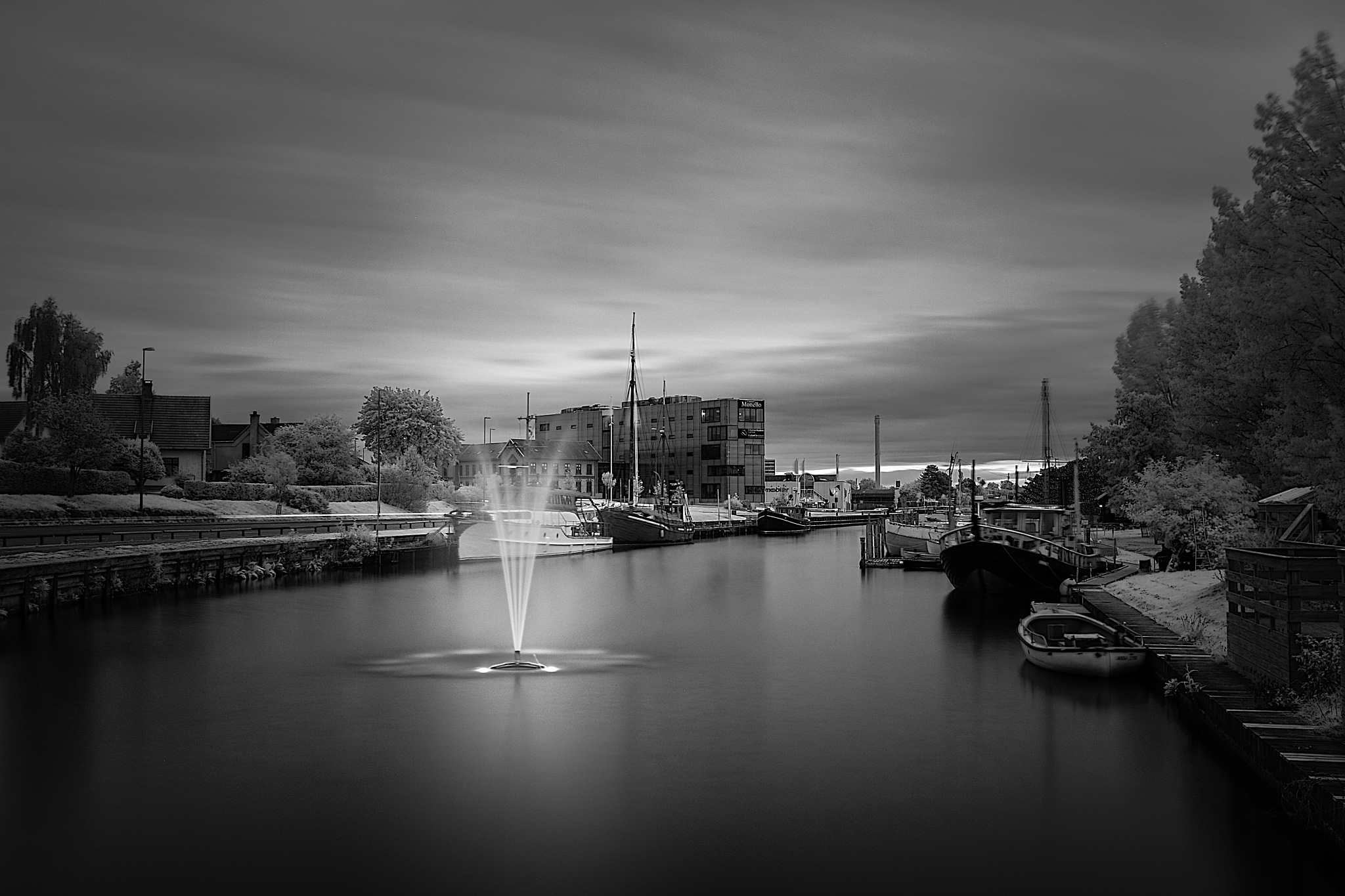 Naestved harbour by Michael B. Rasmussen