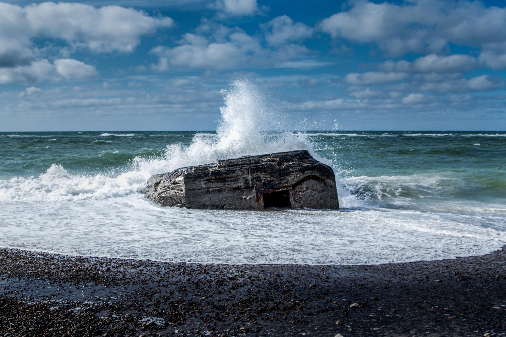 Lild Beach Denmark by Michael B. Rasmussen