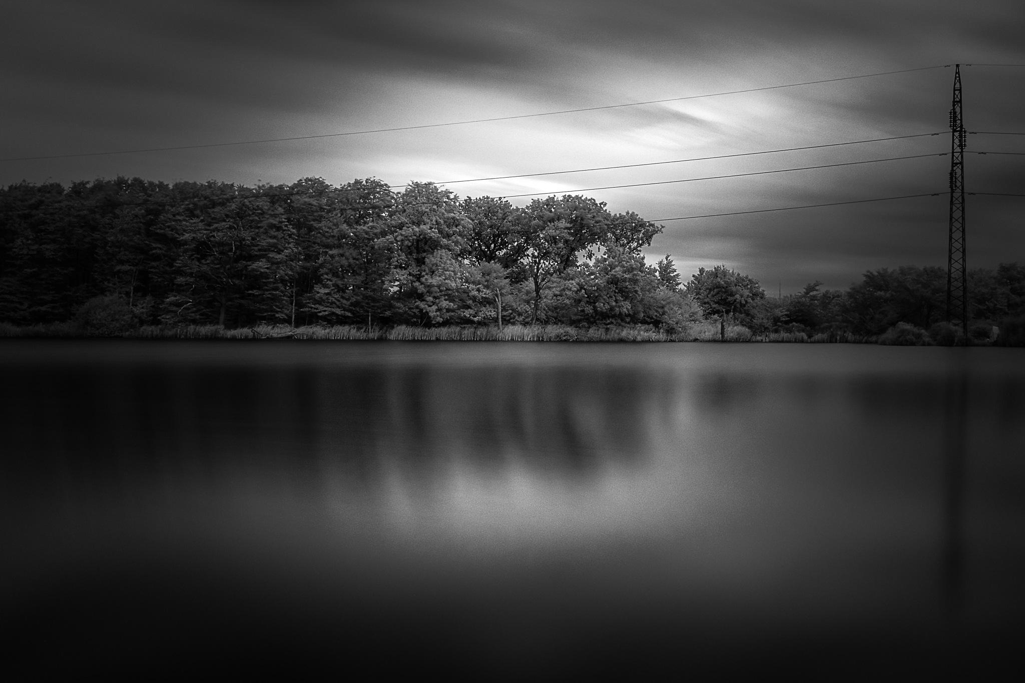 The lake by Michael B. Rasmussen