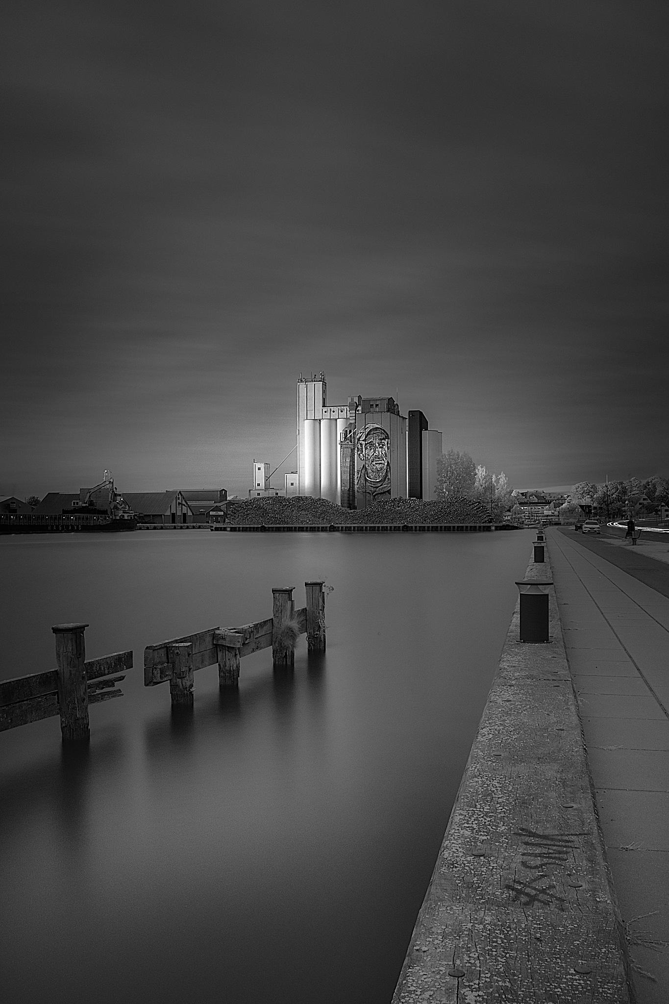 Næstved harbour by Michael B. Rasmussen