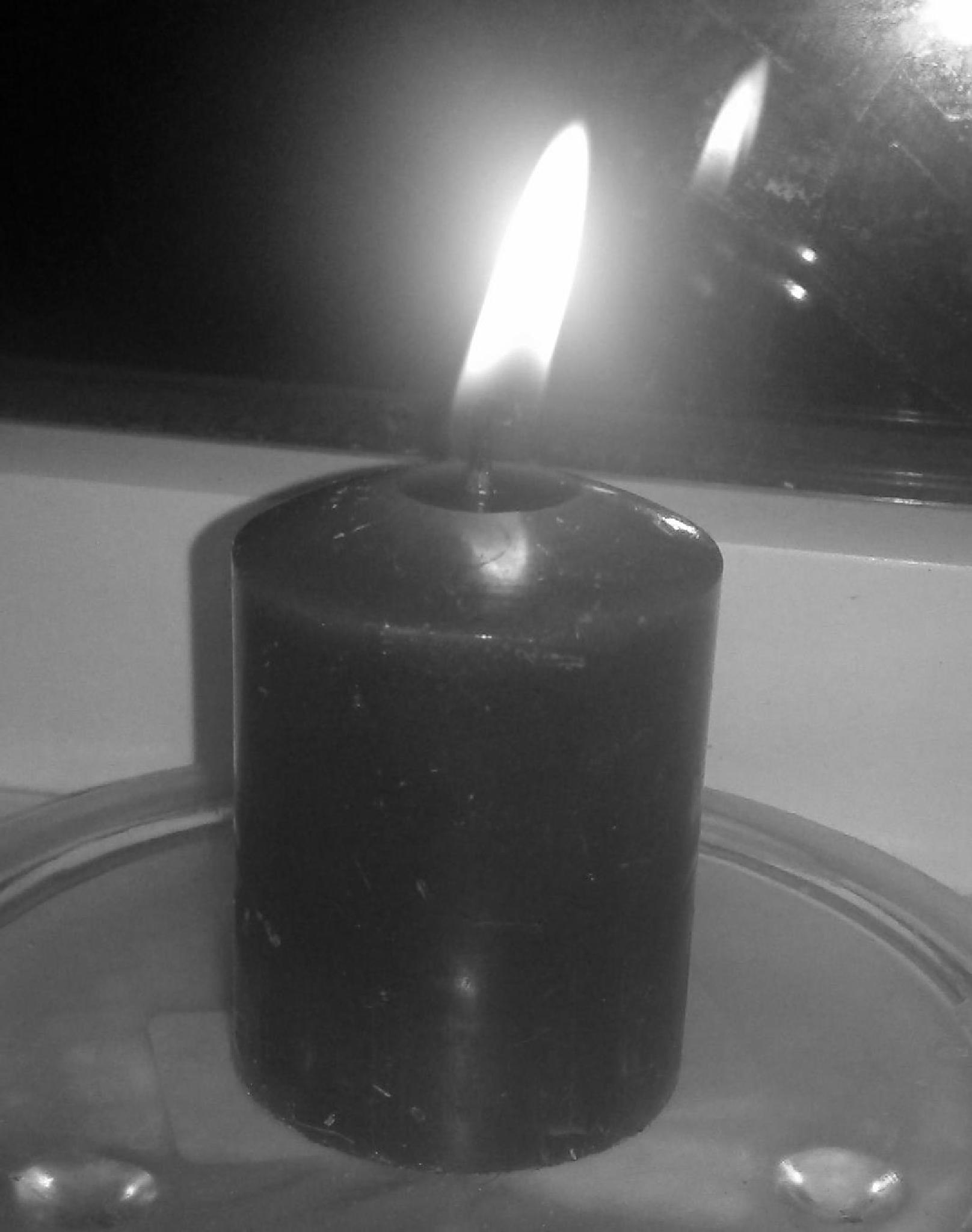 a candle  by gillian.burden