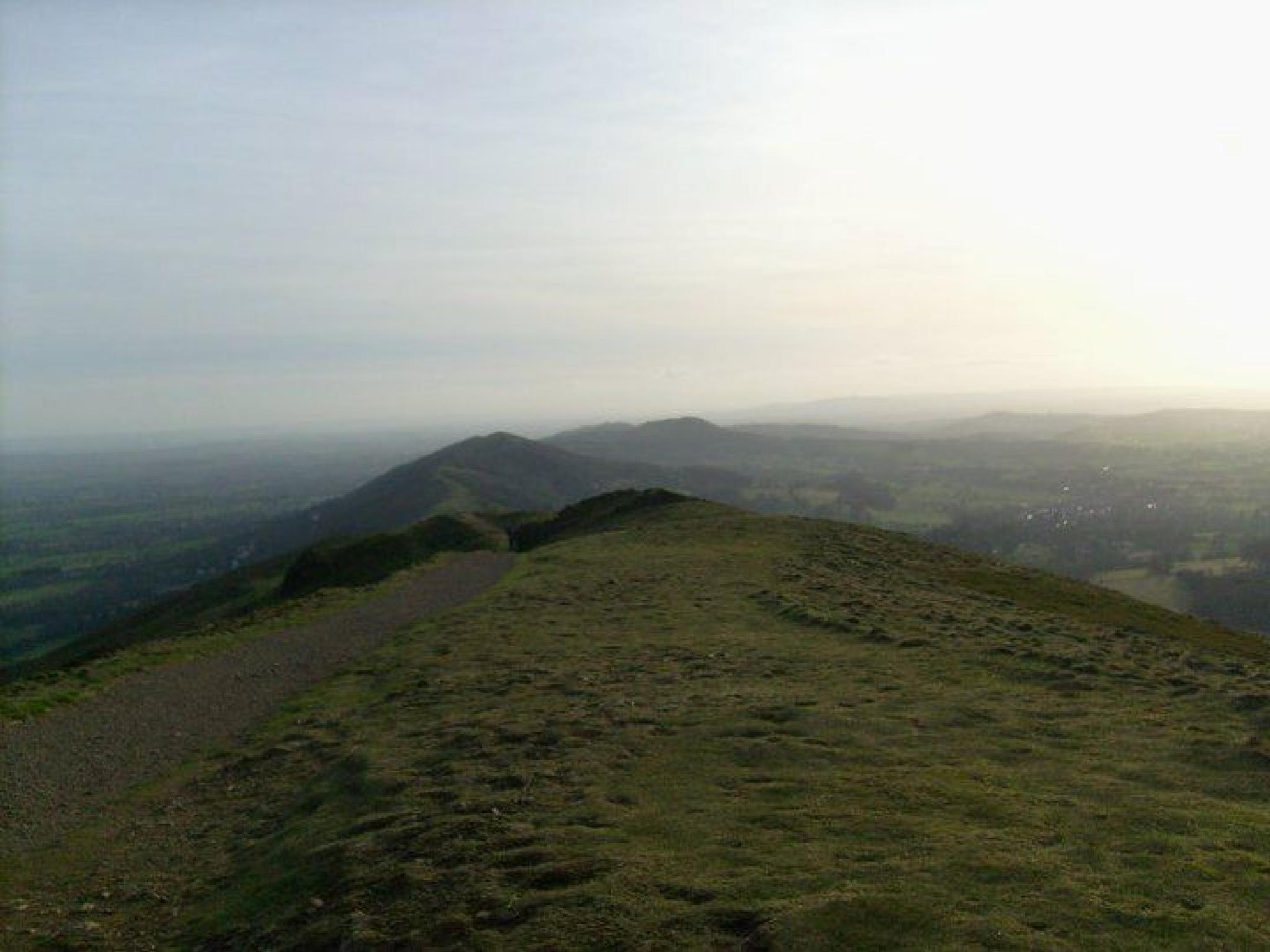 The Malvern Hills.. by Janine