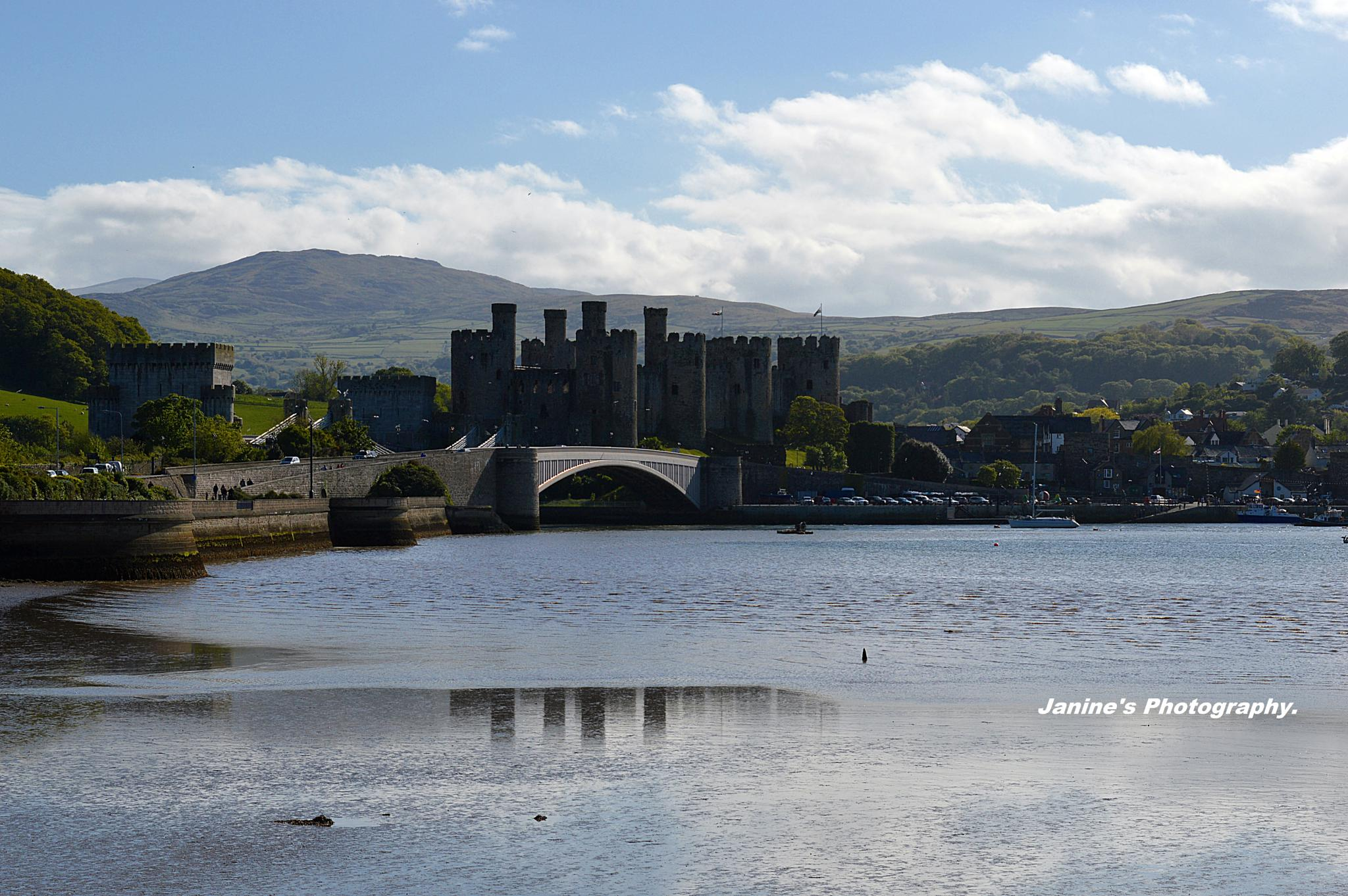 Conwy Castle.. by Janine