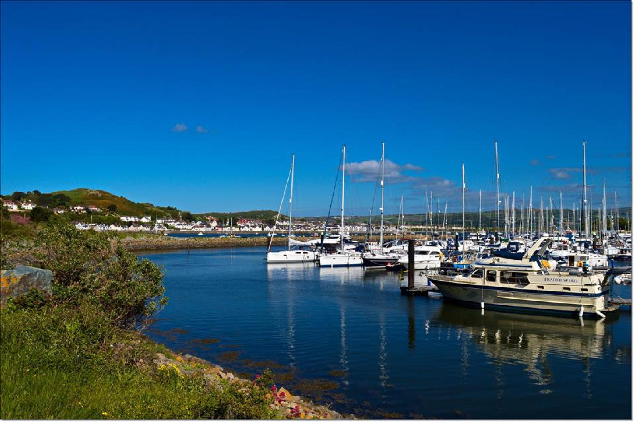 Conwy Marina North Wales.. by Janine