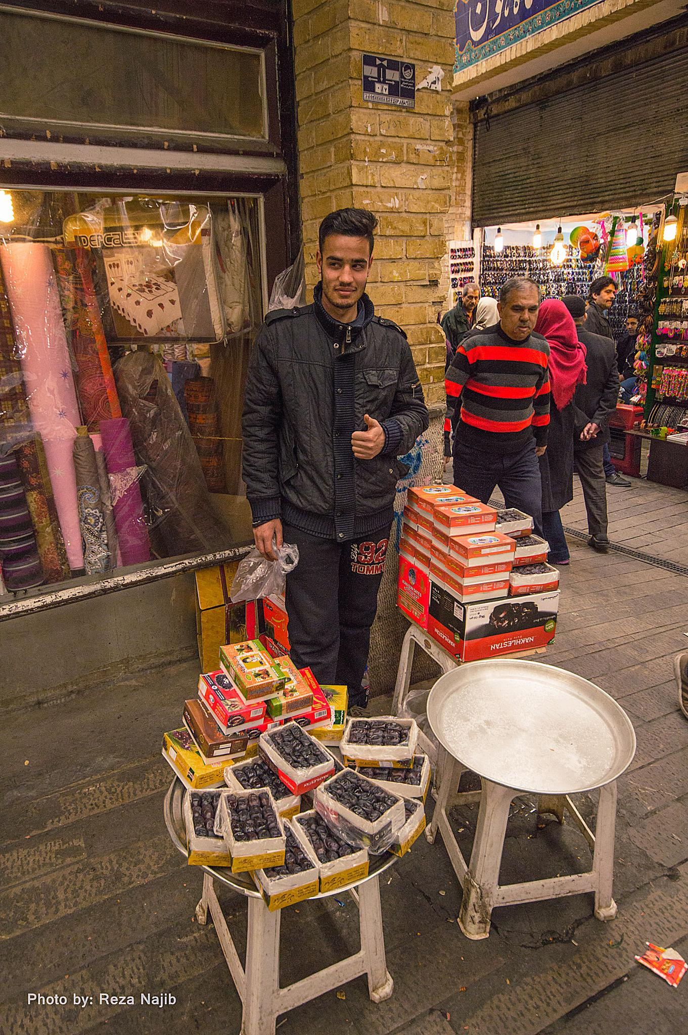 Photo in Street Photography #tajrish #bazar #young man