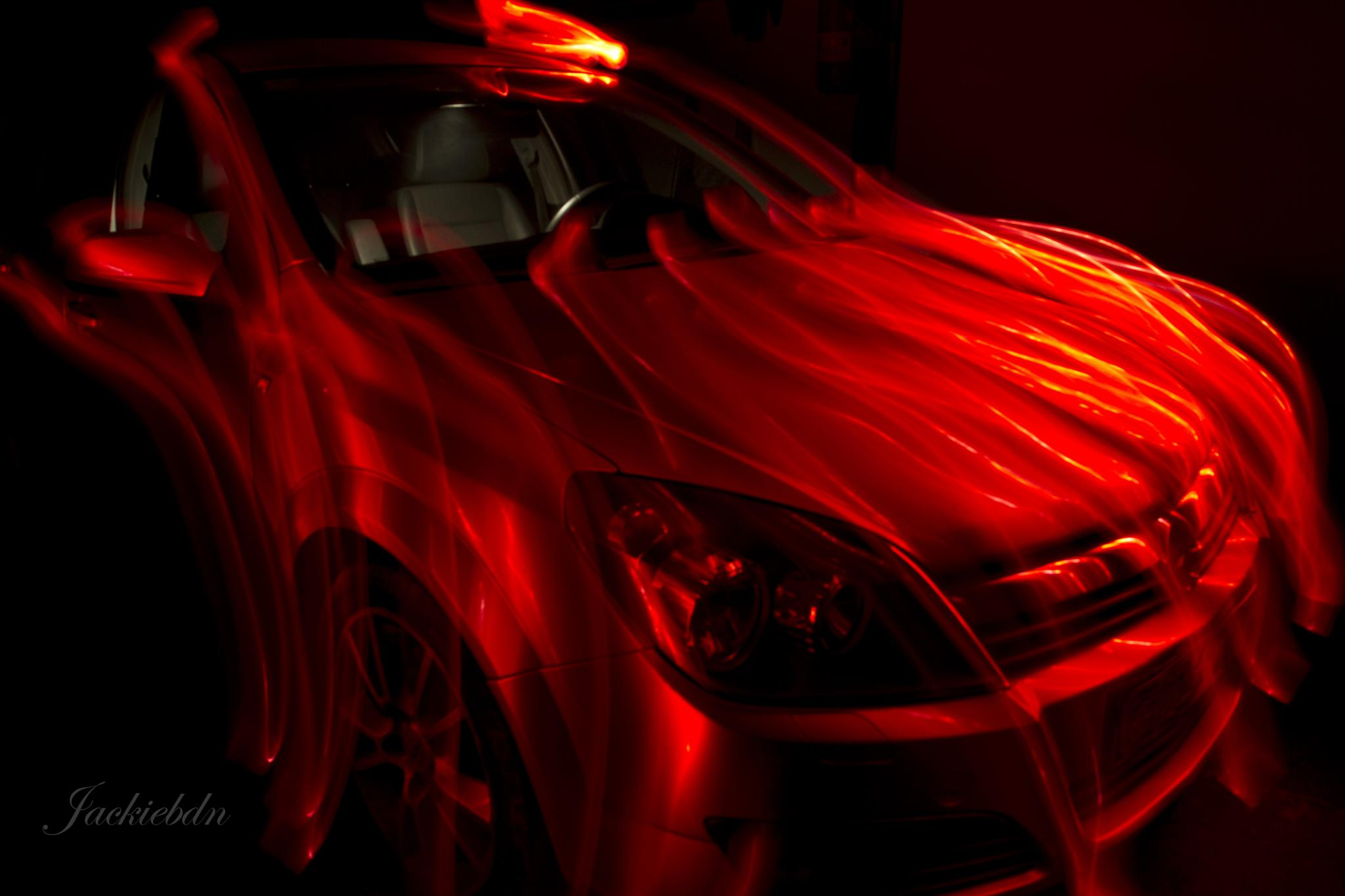Evil Car by Jackiebdn