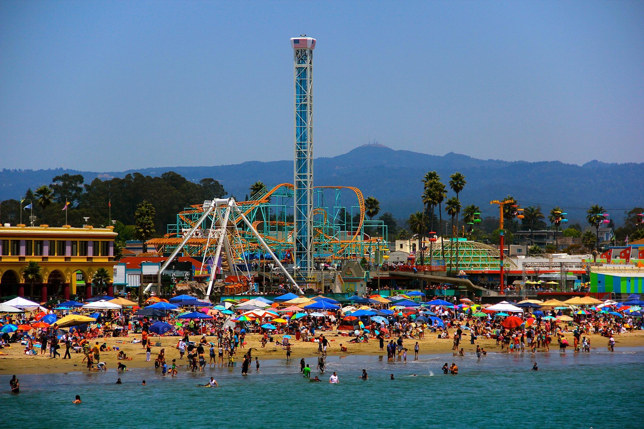 Santa Cruz Boardwalk by McBridePictures.com