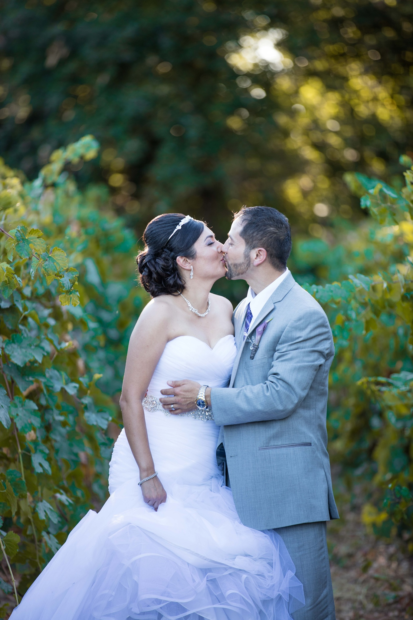 Newlyweds in the Vineyard by McBridePictures.com