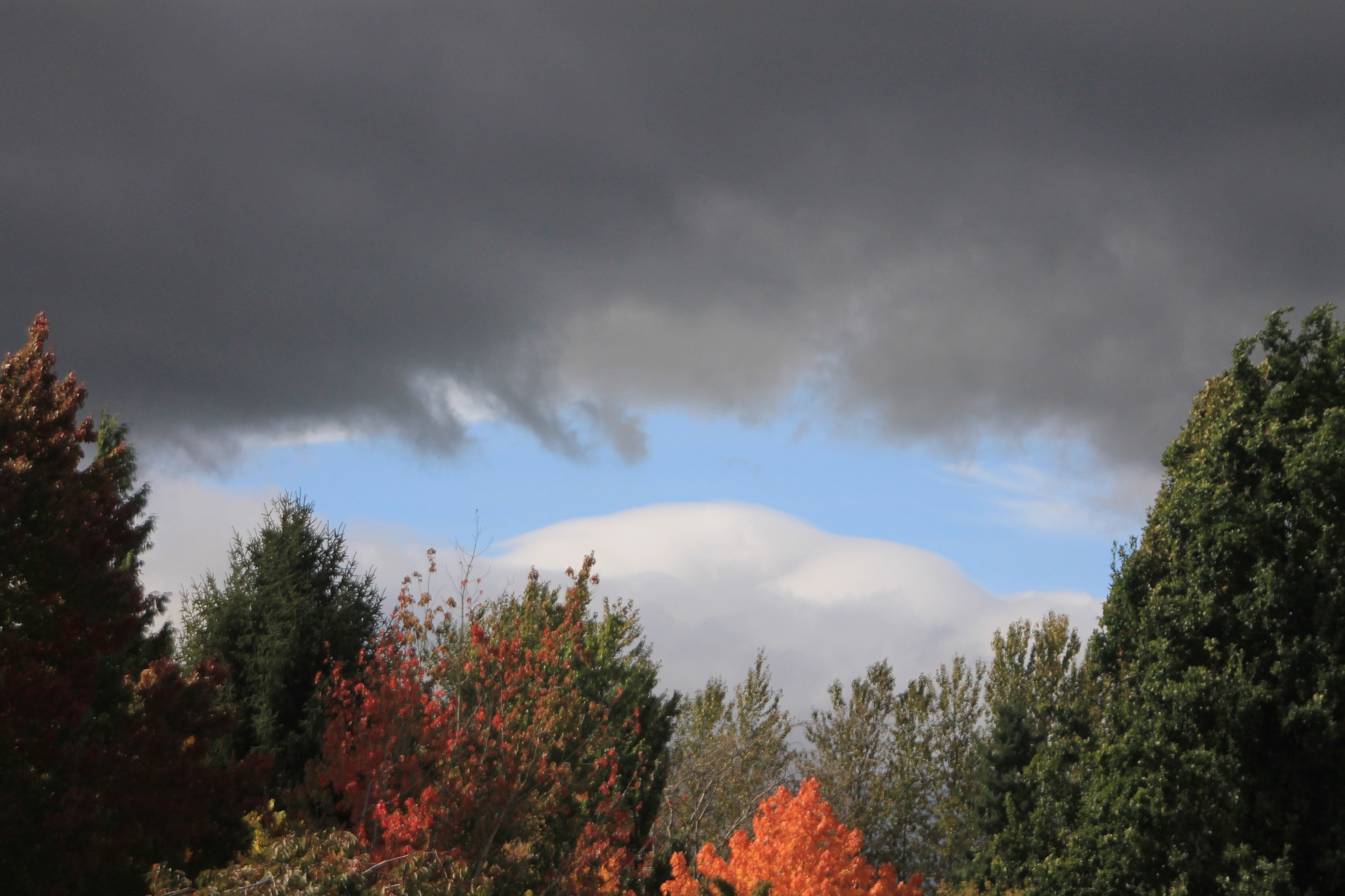 Fall and clouds by peyton0104