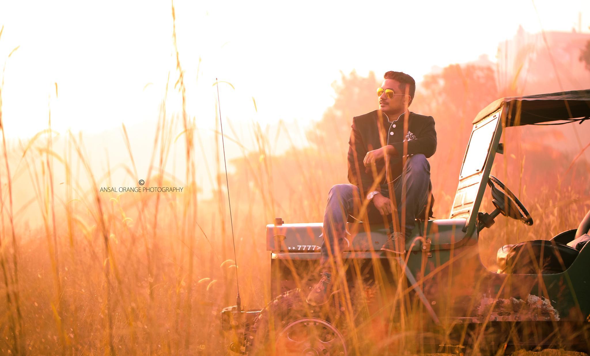 Post Wedding Shoot by Ansal Orange