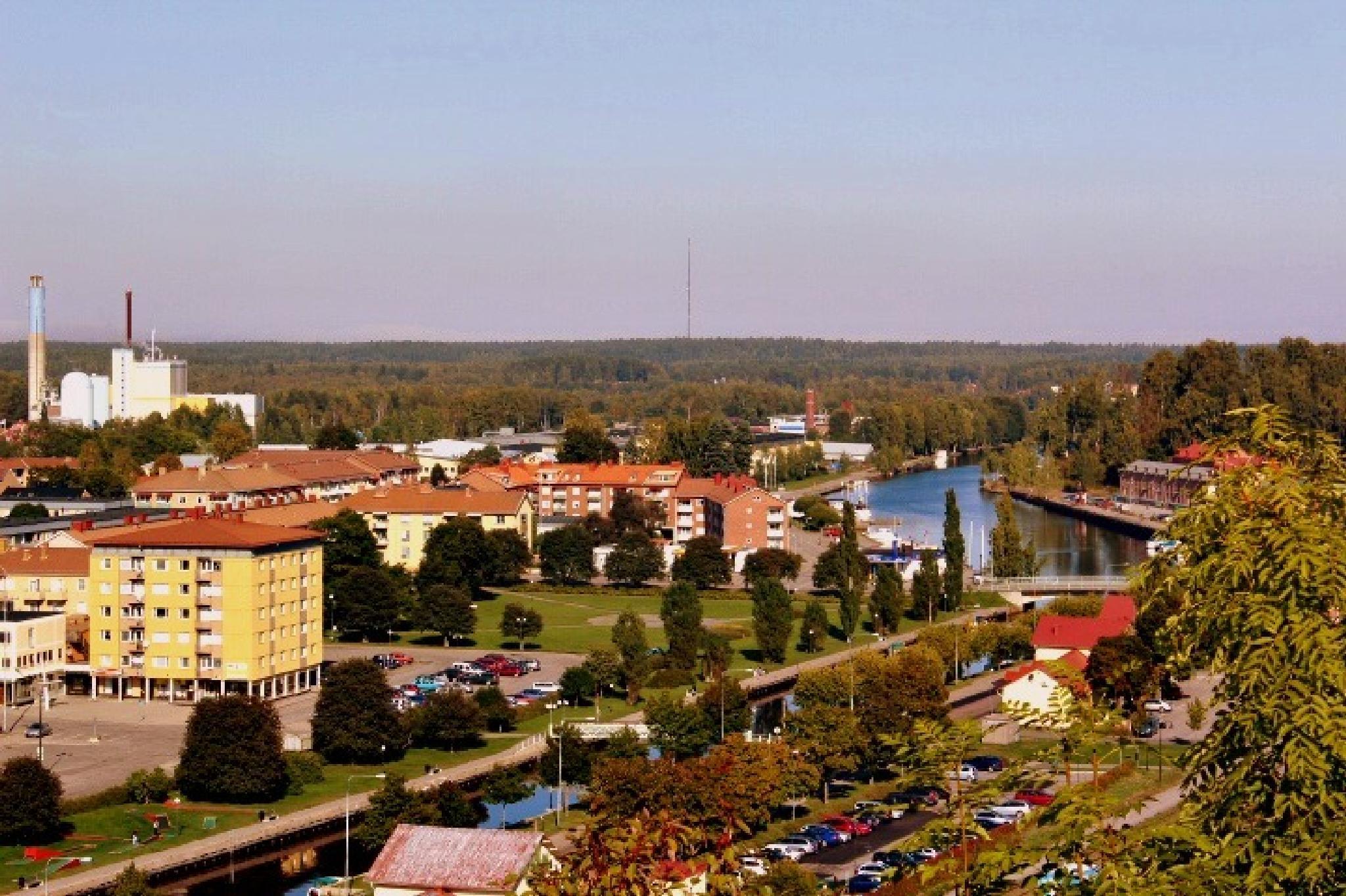 view of my hometown söderhamn by maria.fahlqvistagren