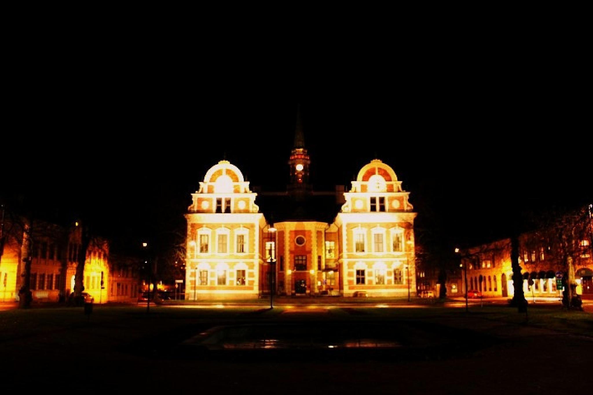 Sweden Söderhamns Town Hall  by maria.fahlqvistagren