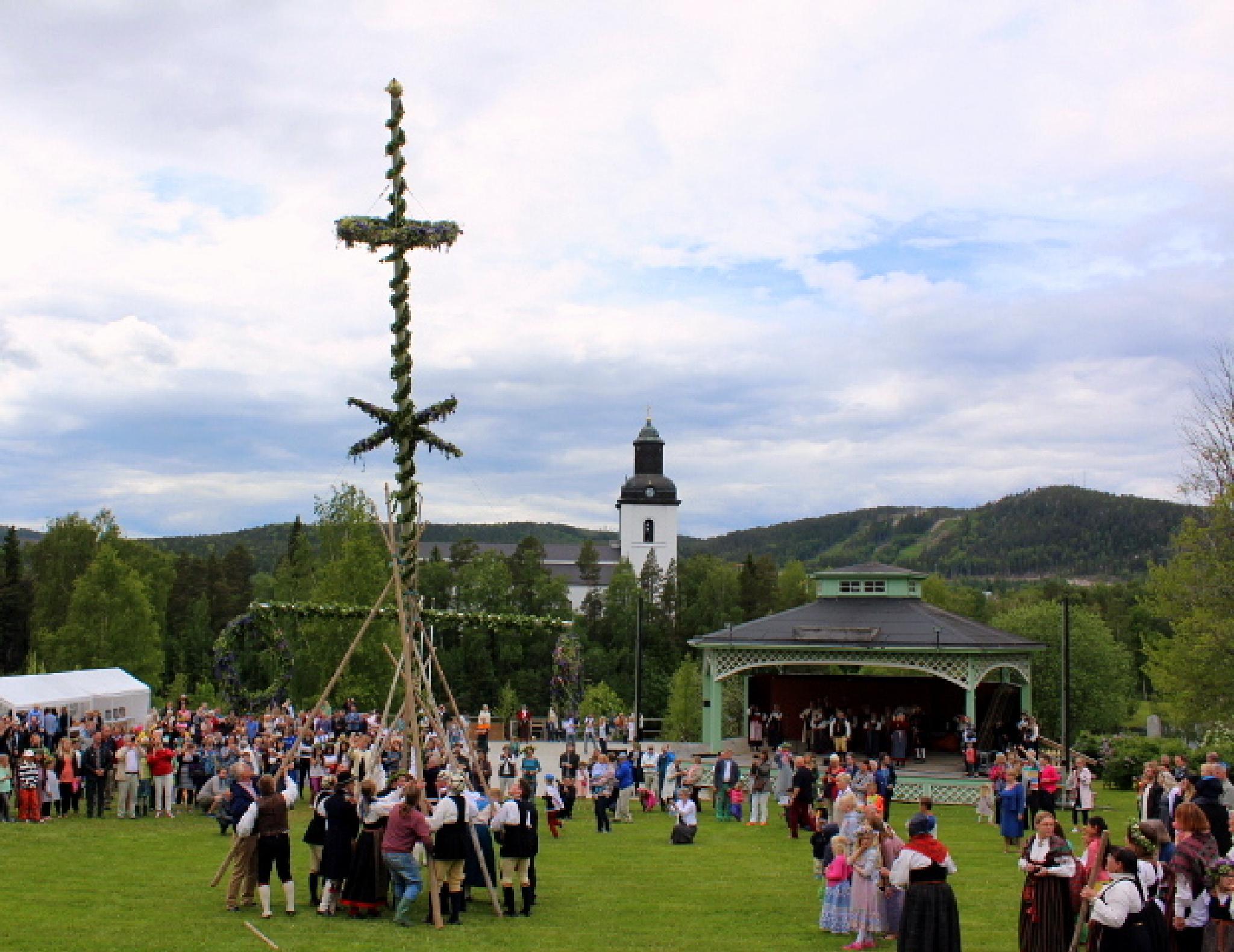 Sweden Järvsö midsummer by maria.fahlqvistagren