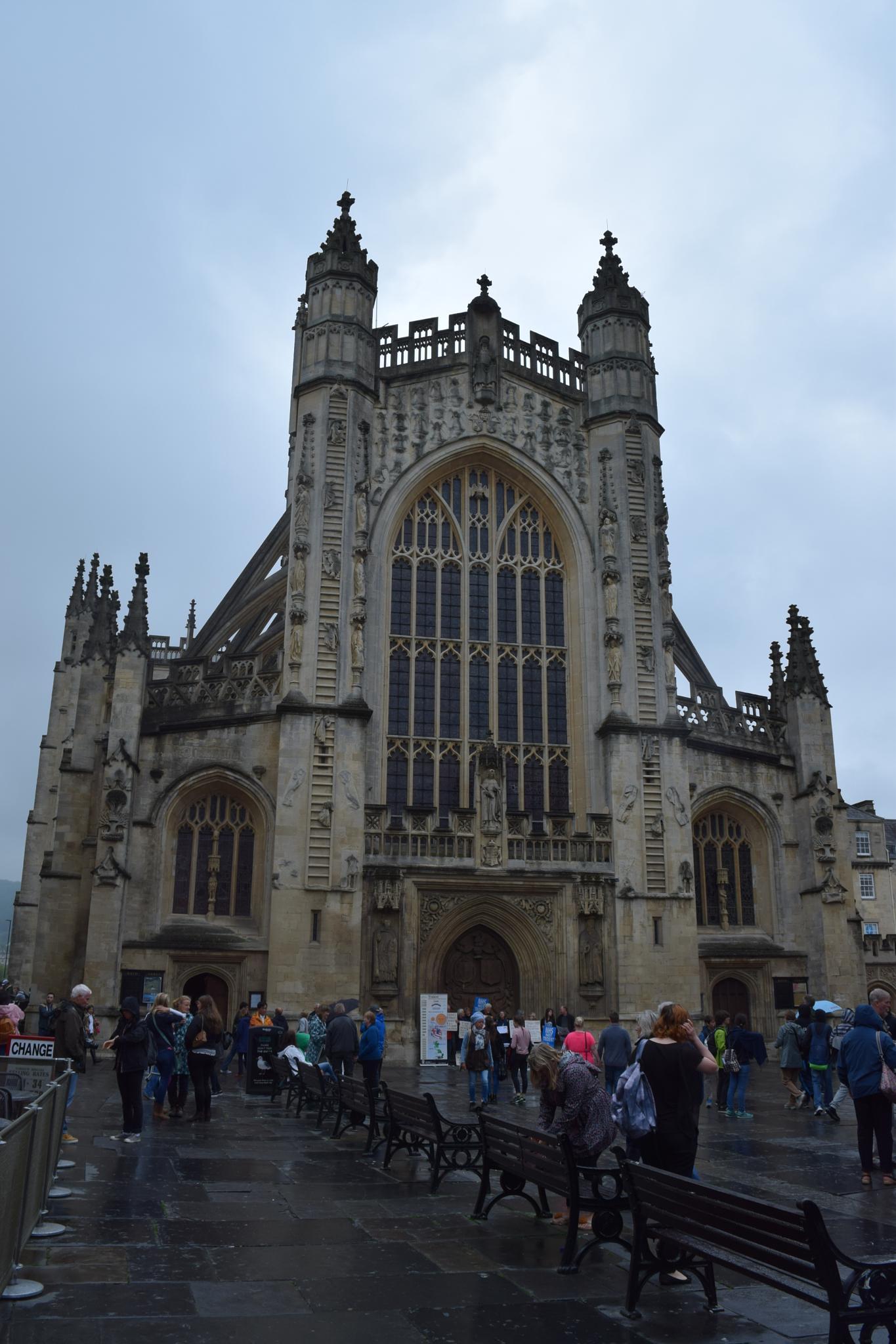Bath Abbey 2 by Gwynboyo