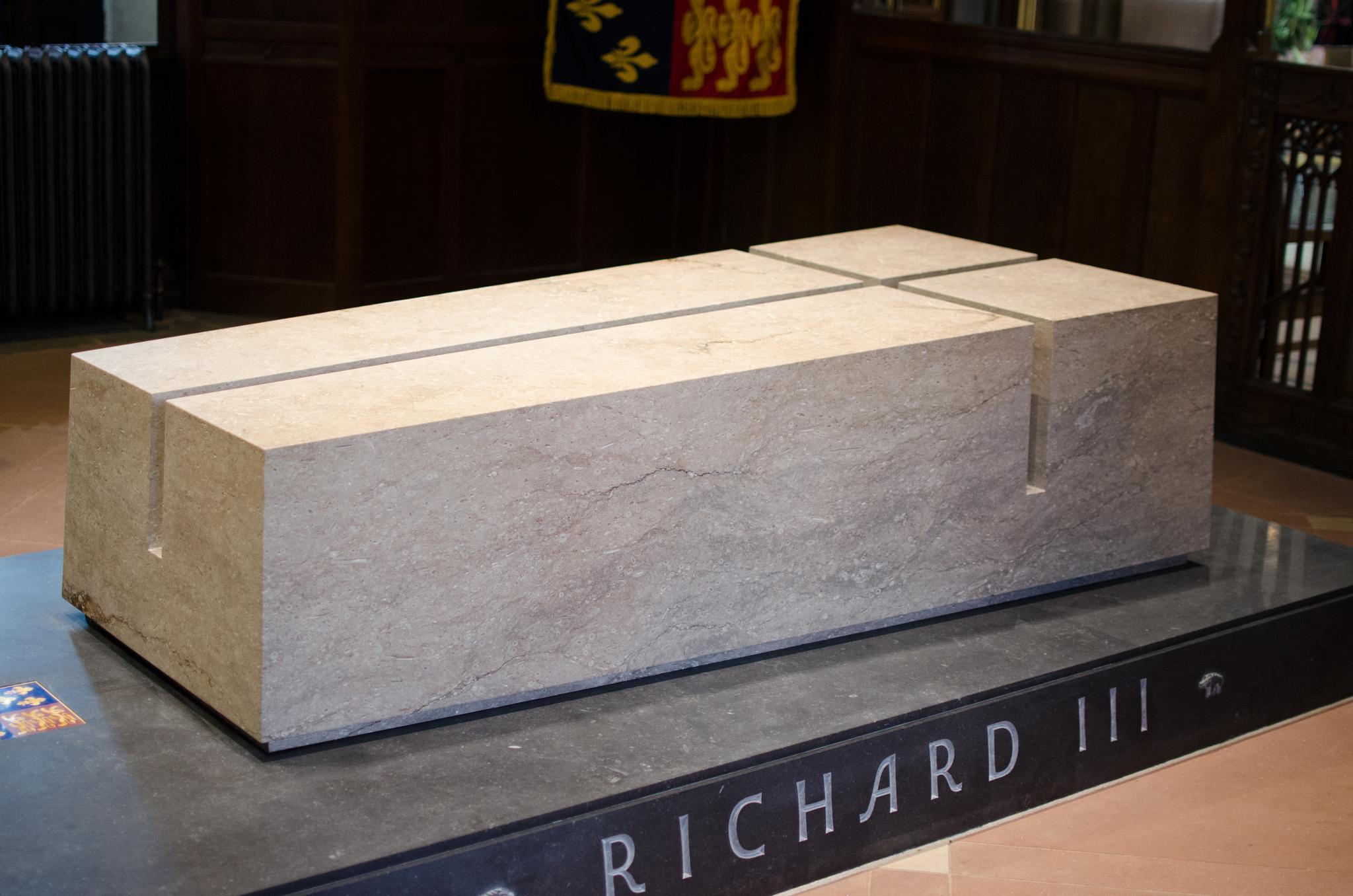 King Richard III Internment Stone by nigelkibble2