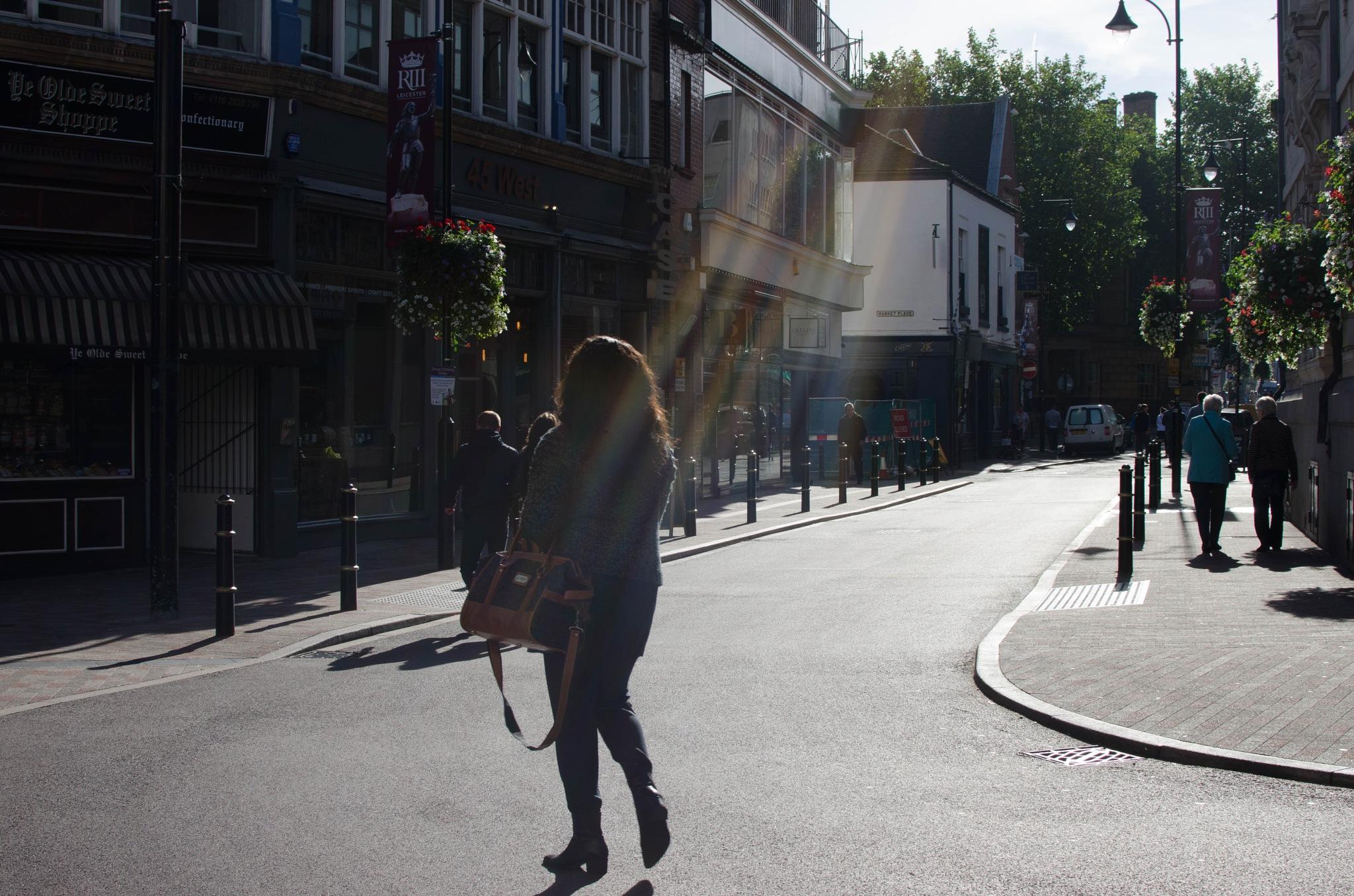 Lady Crossing by nigelkibble2
