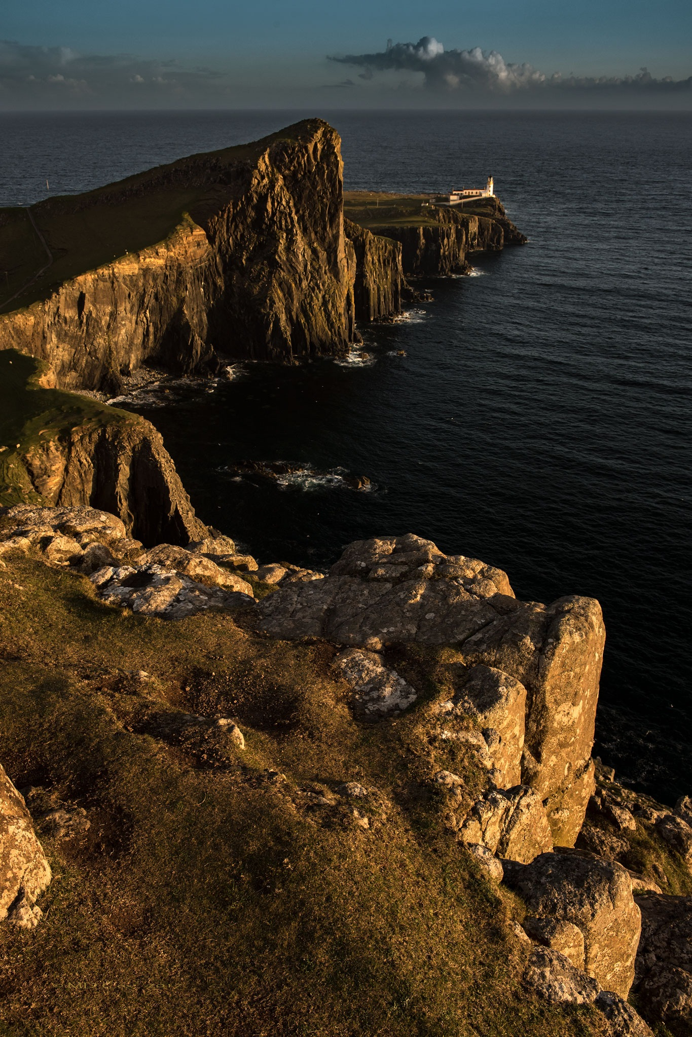 Neist Point Lighthouse by Michael Cox