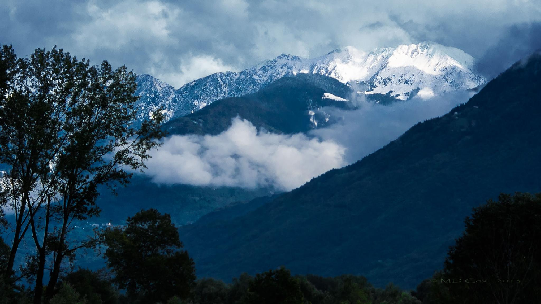 Italian Alps by Michael Cox