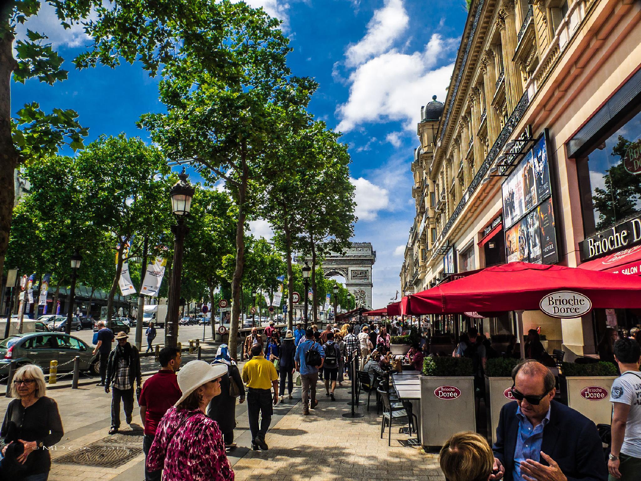Champs-Élysées by Michael Cox