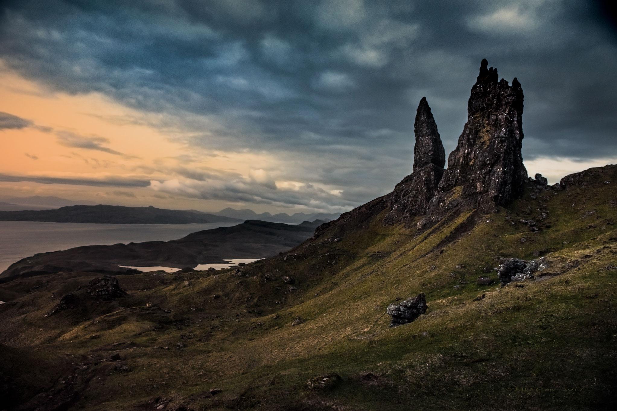 Morning Skye by Michael Cox