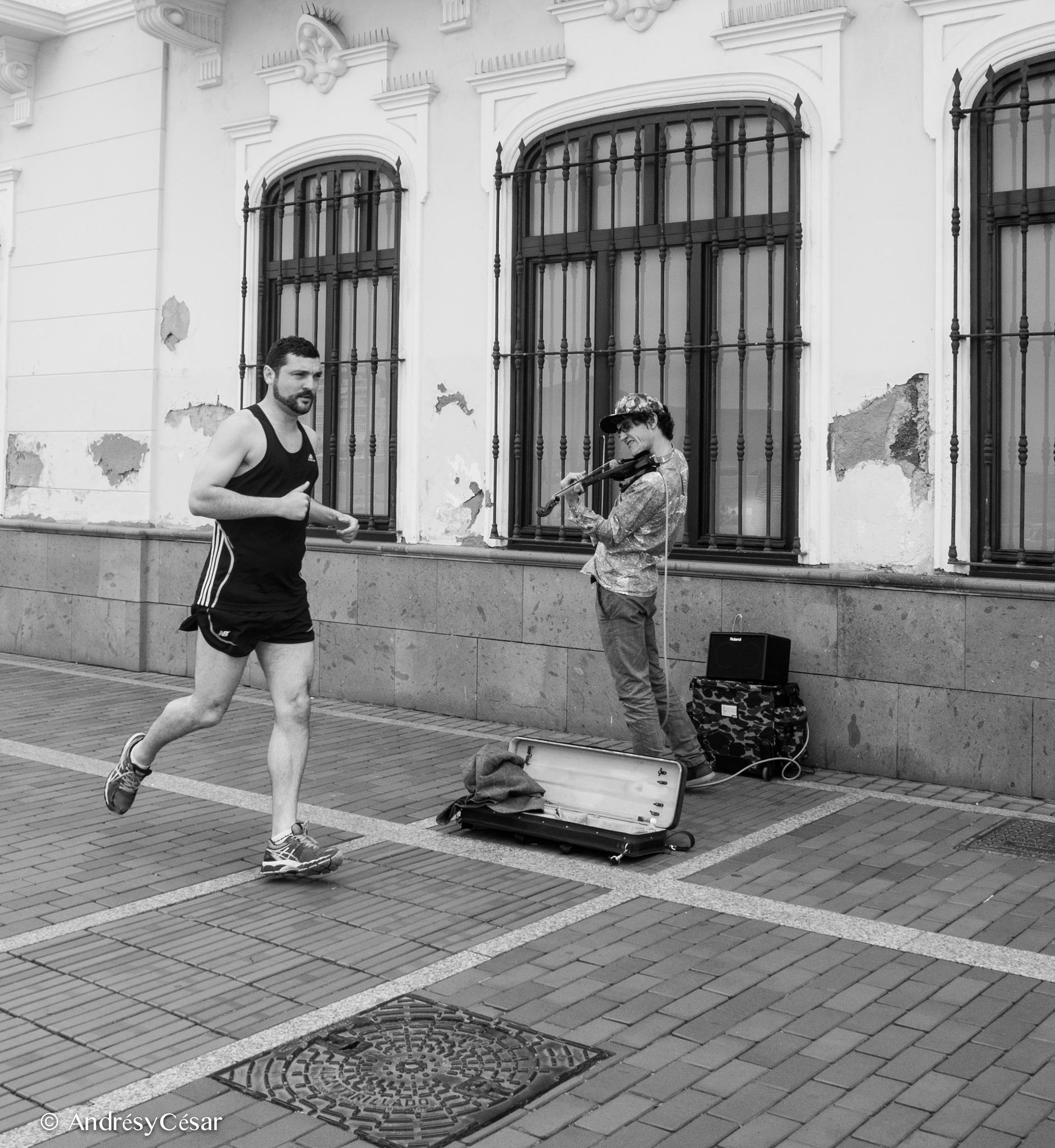 Music for running by AndrésyCésar