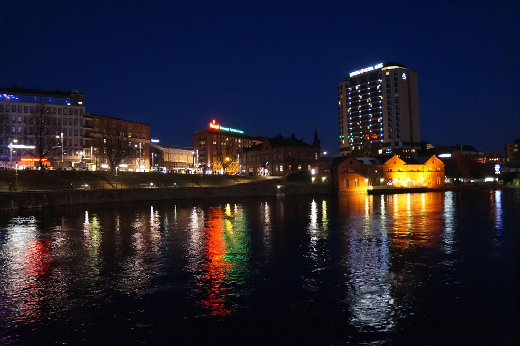 Tampere city river by Ann