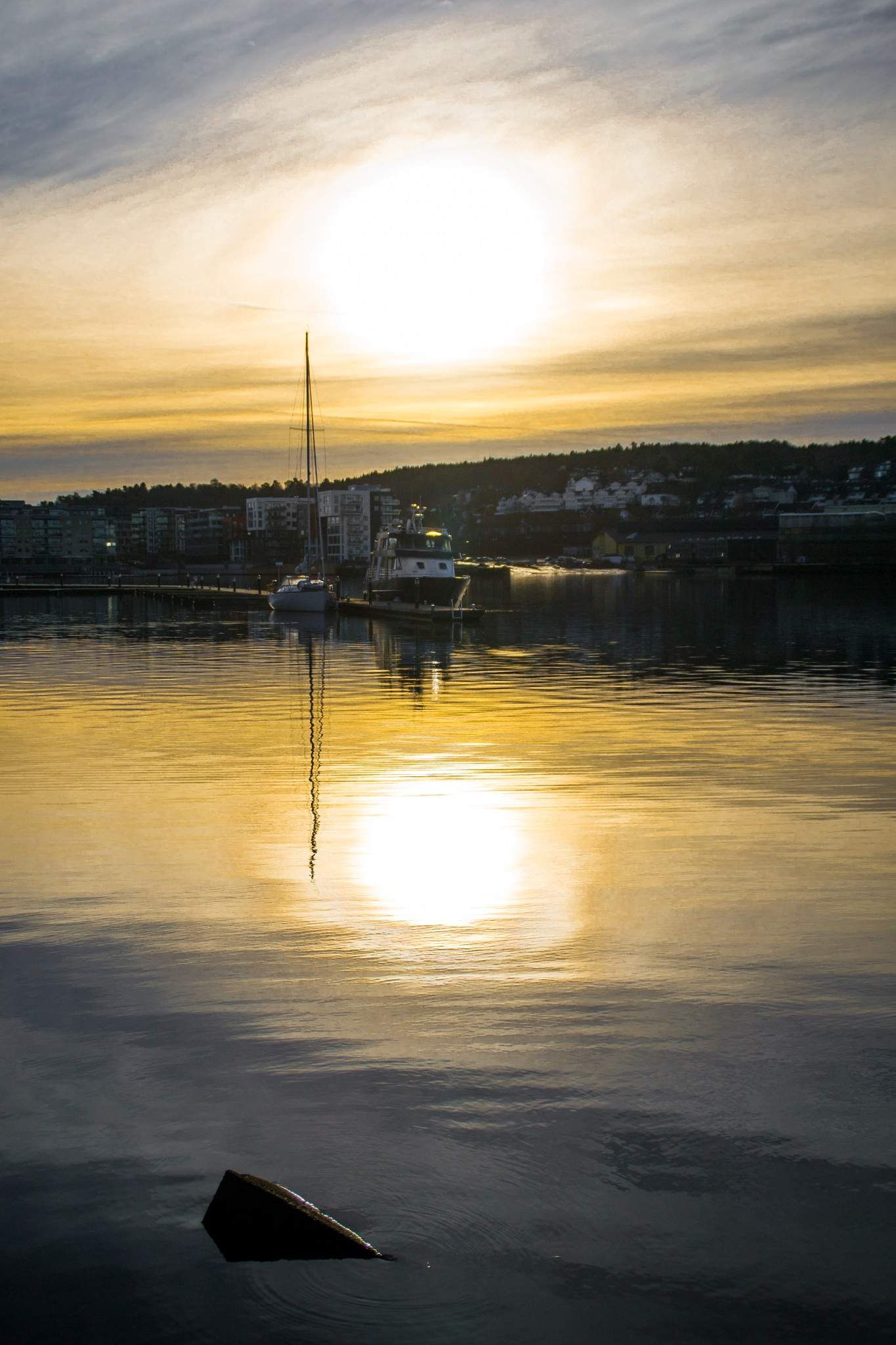 Reflected Sun by MjollnirMacAlba