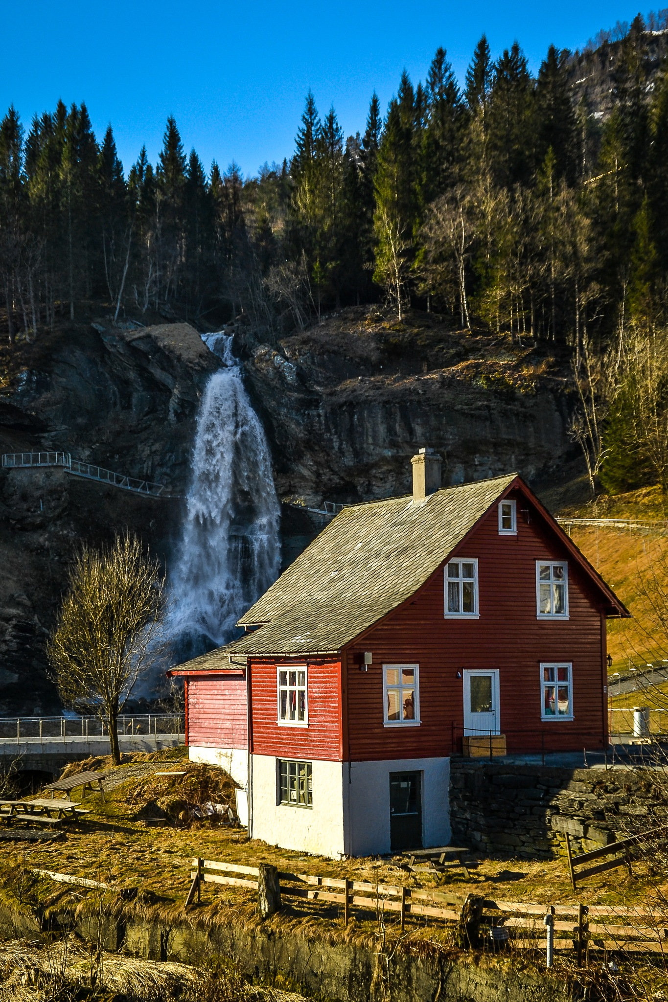 The House by the Falls by MjollnirMacAlba