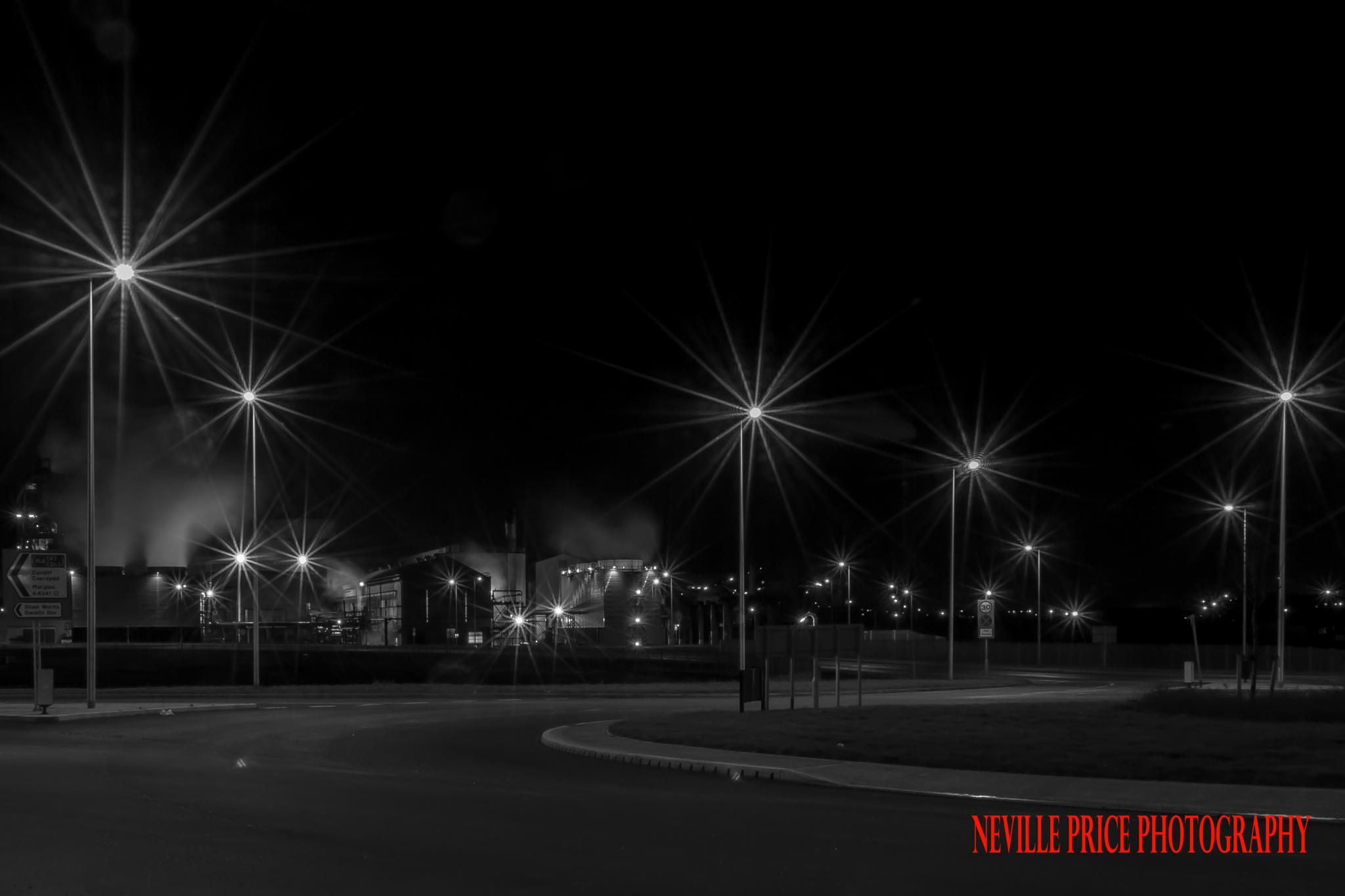 Night Scene by BigNev