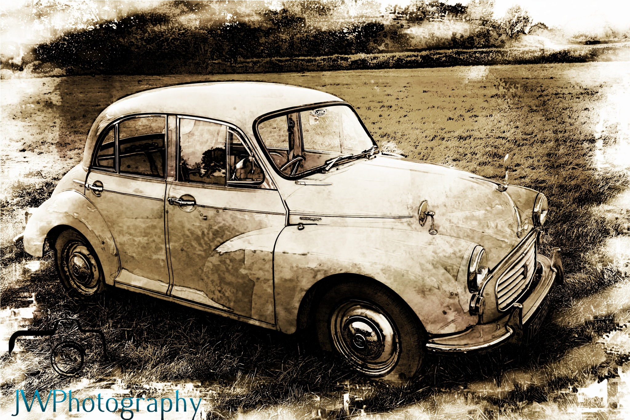Morris Minor by                JWPhotography