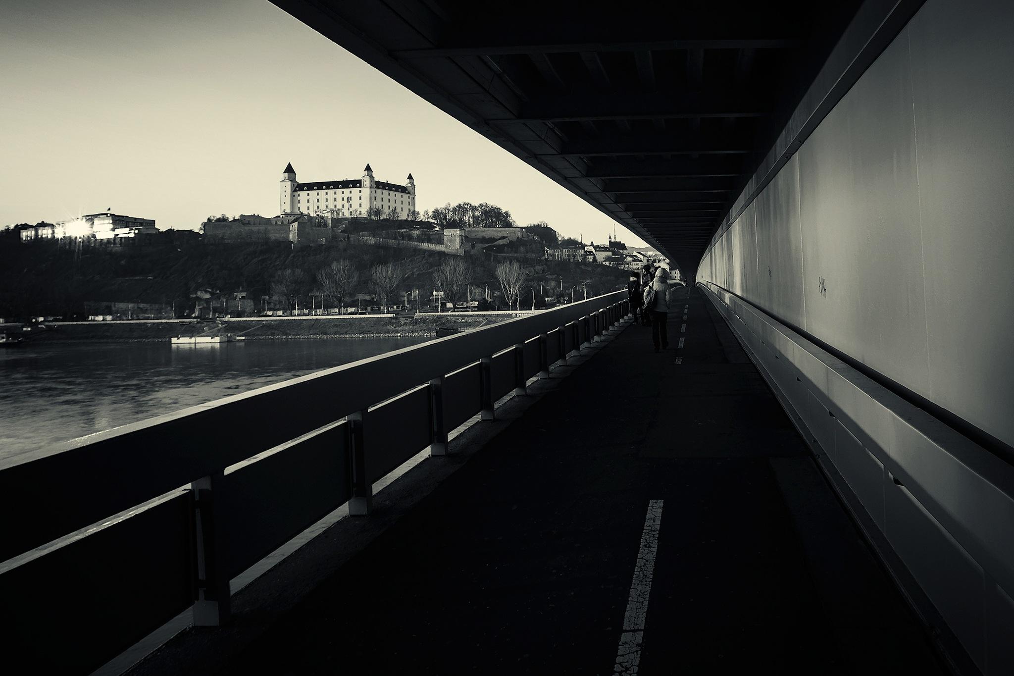 Photo in Black and White #bratislava