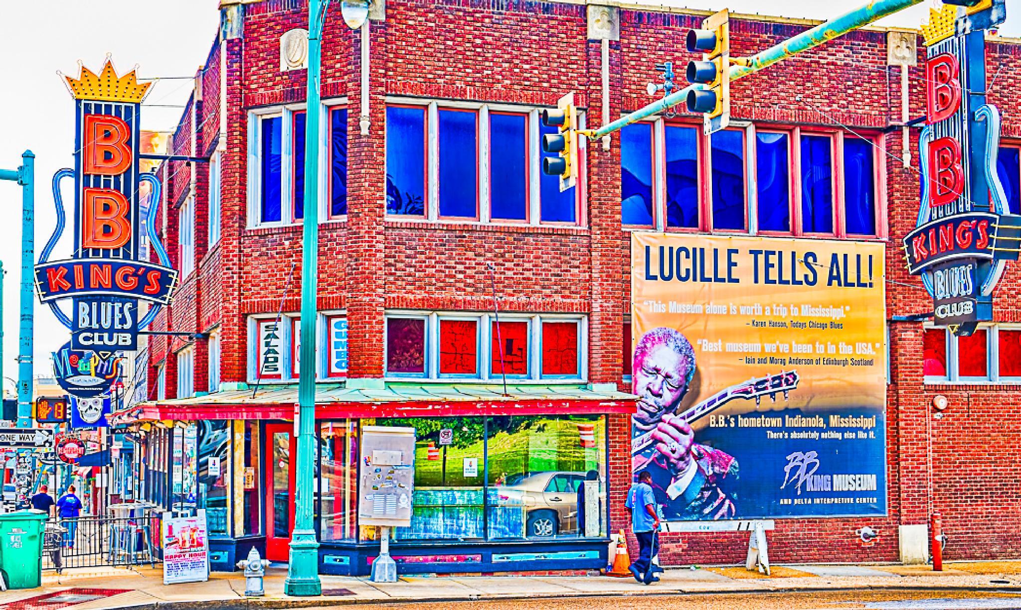 Beale Street, Scene 2 by Cliff C Morris Jr
